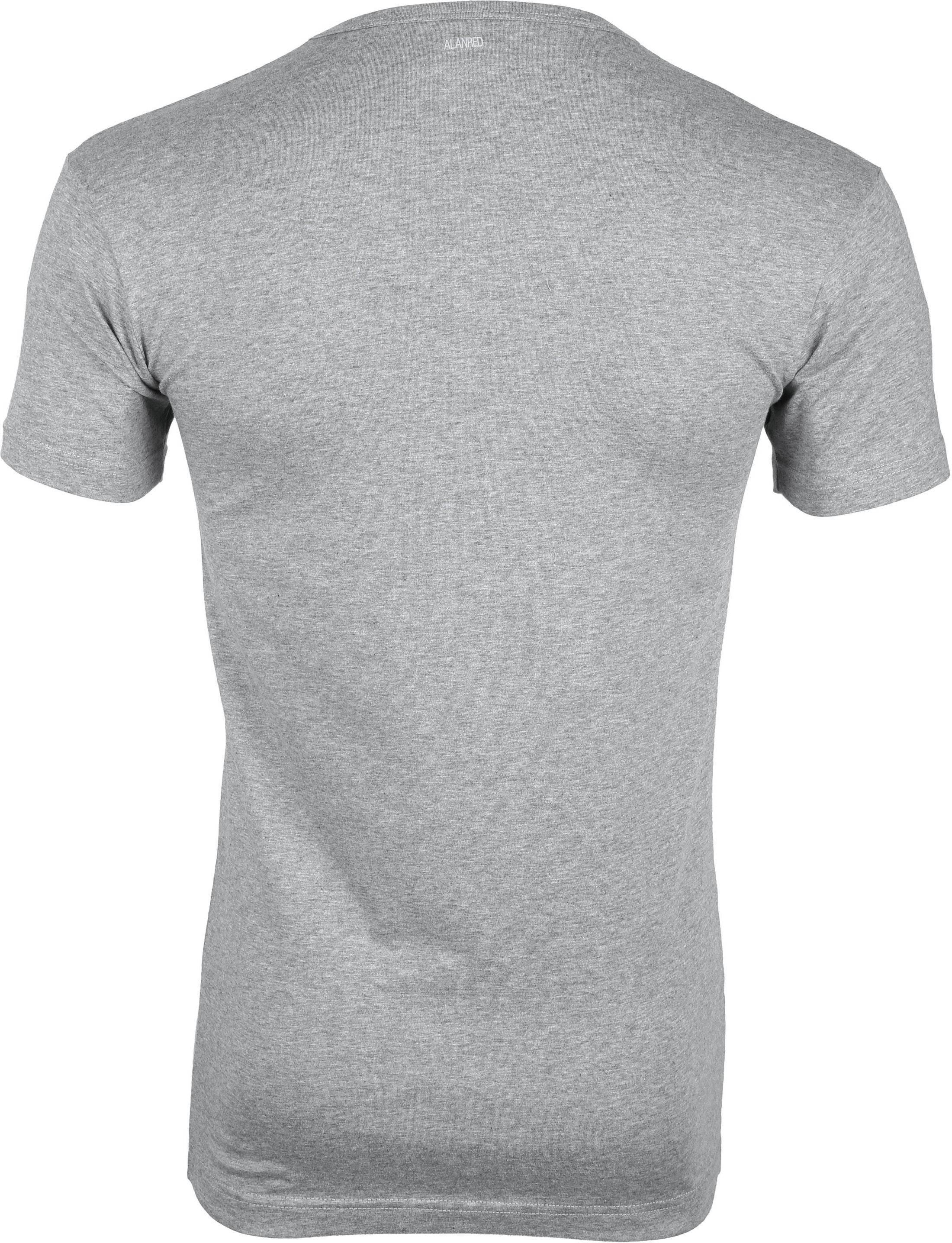 Alan Red Oklahoma T-shirt Stretch Grijs (2pack) foto 4