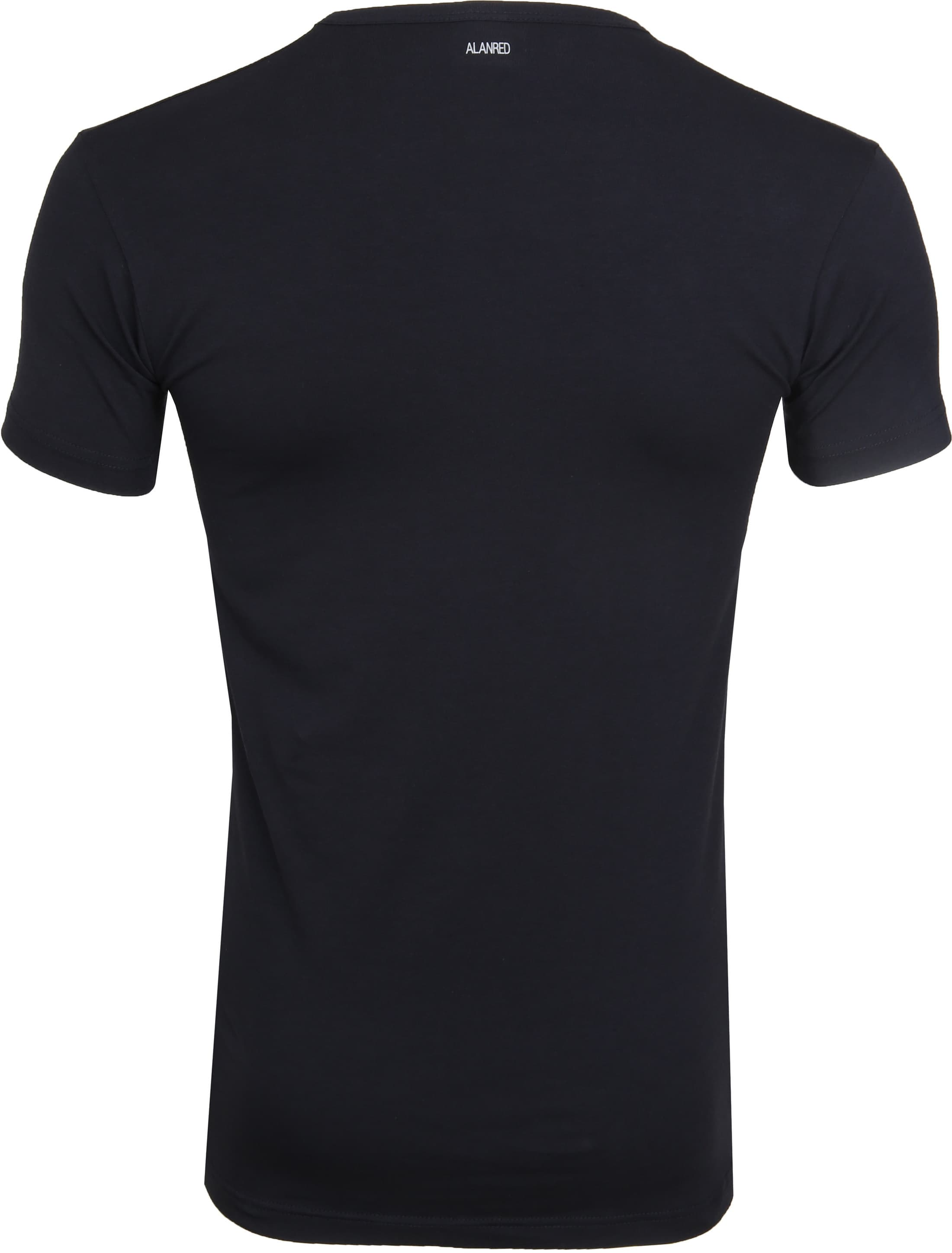 Alan Red Oklahoma T-Shirt Stretch Navy (2-Pack) foto 3