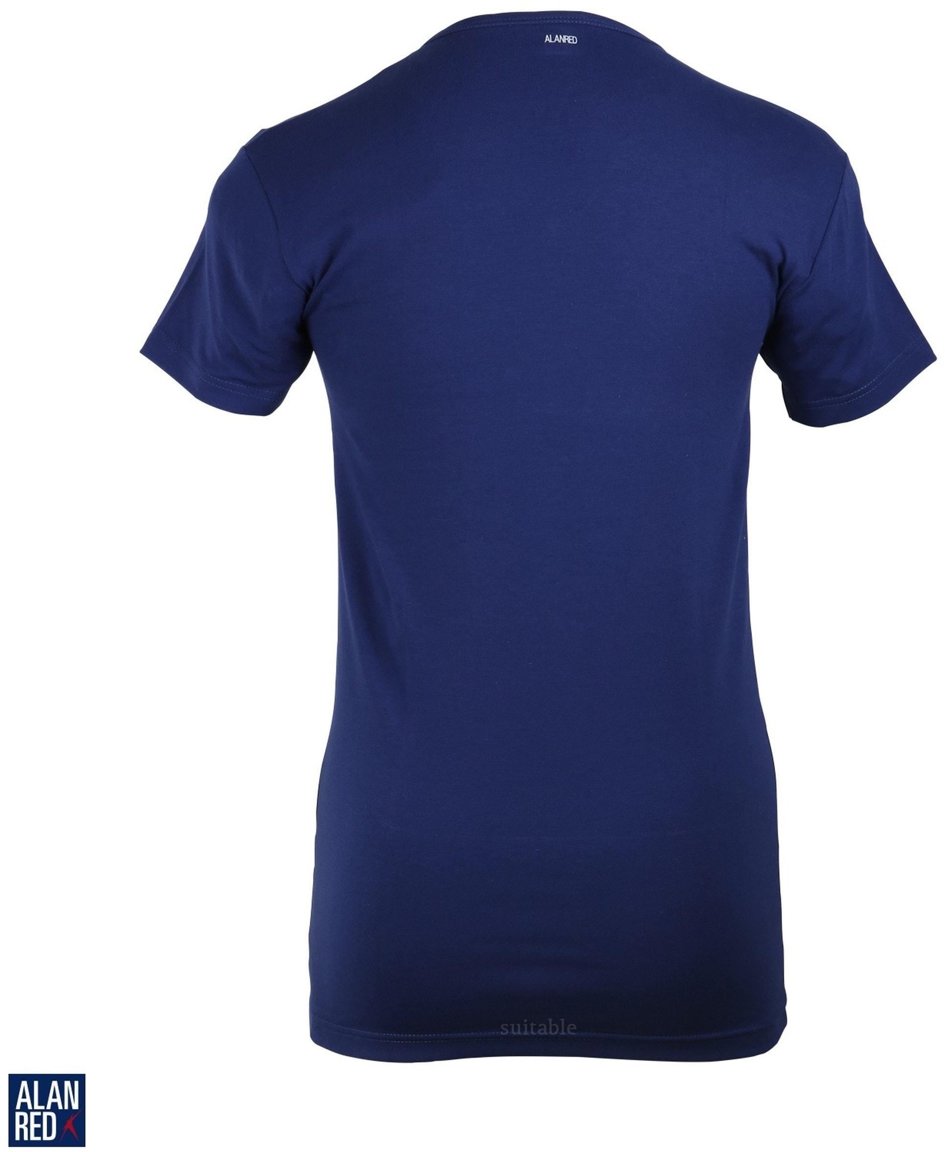 Alan Red Oklahoma T-shirt Stretch Ultramarine 1-Pack foto 2