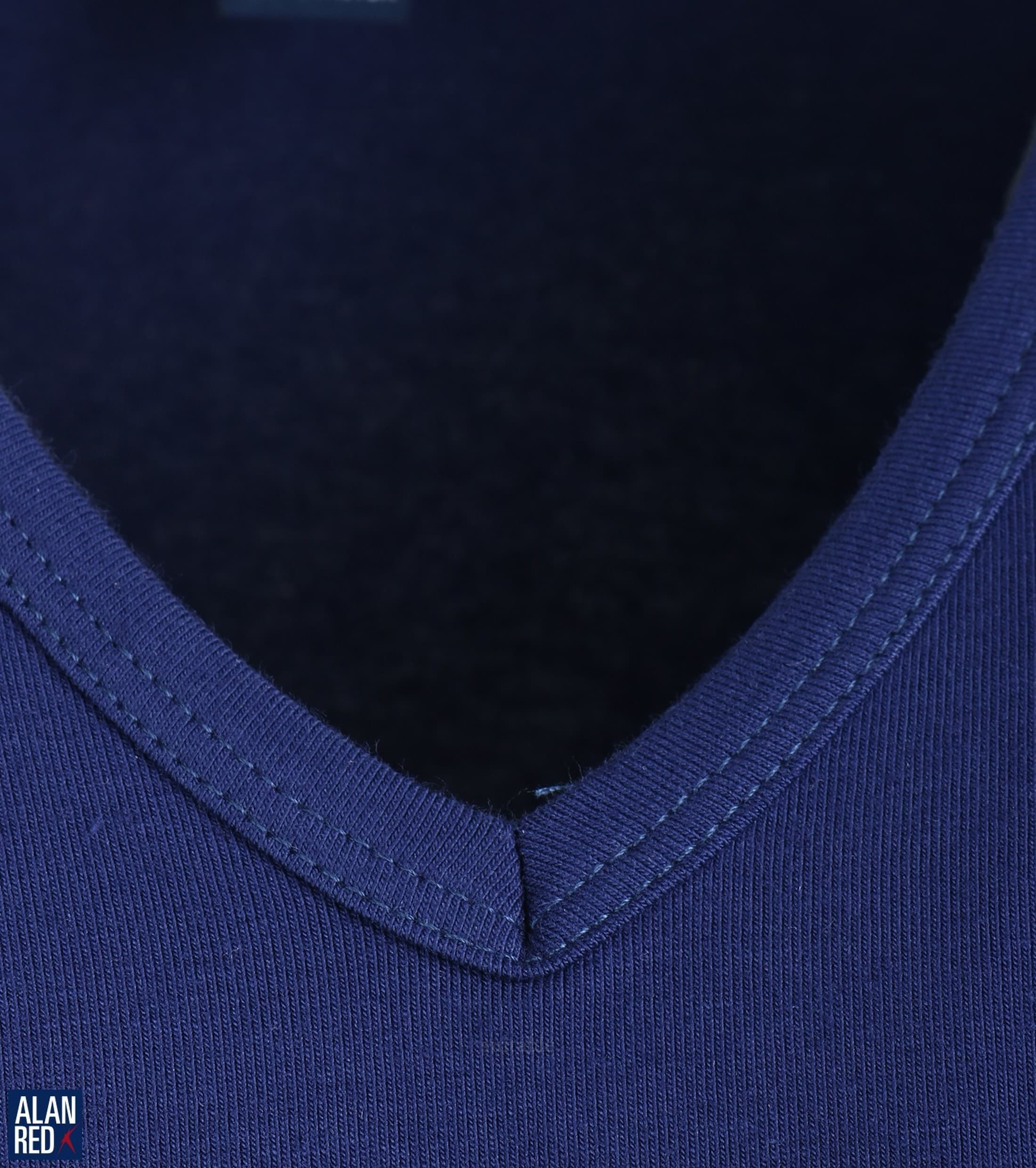 Alan Red Oklahoma T-shirt Stretch Ultramarine 1-Pack foto 1