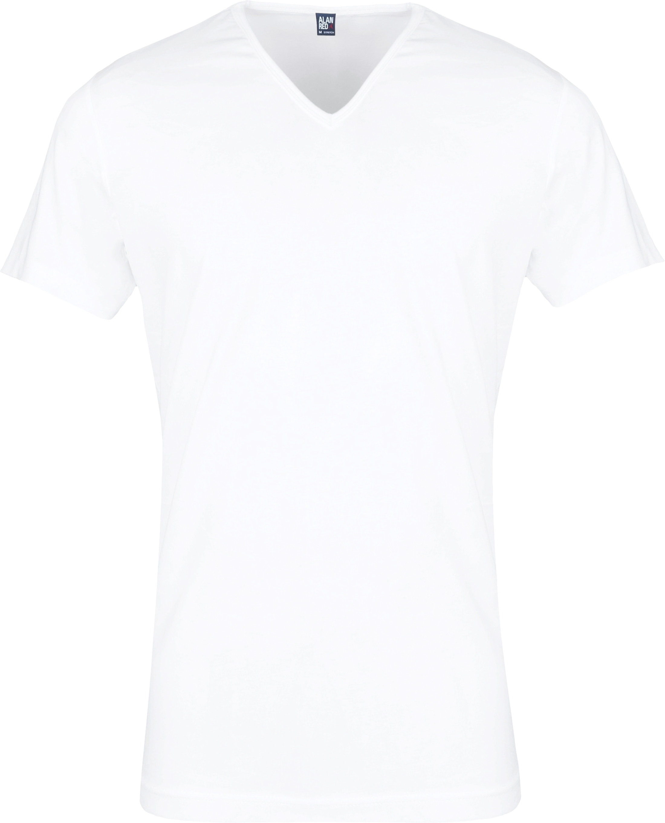 Alan Red Oklahoma T-shirt Stretch White 2-Pack foto 1