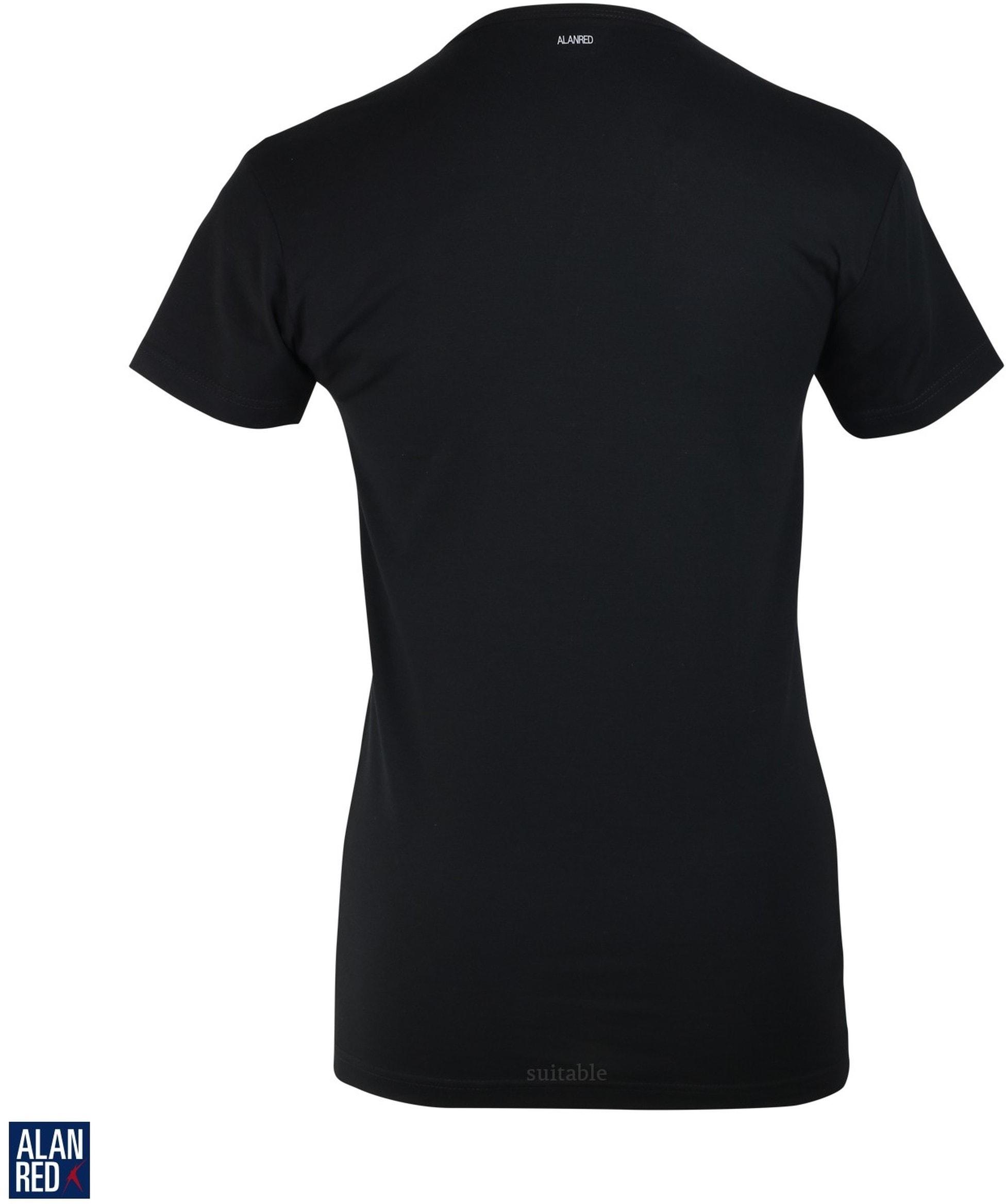 Alan Red Oklahoma T-shirt Stretch Zwart (1pack) foto 1