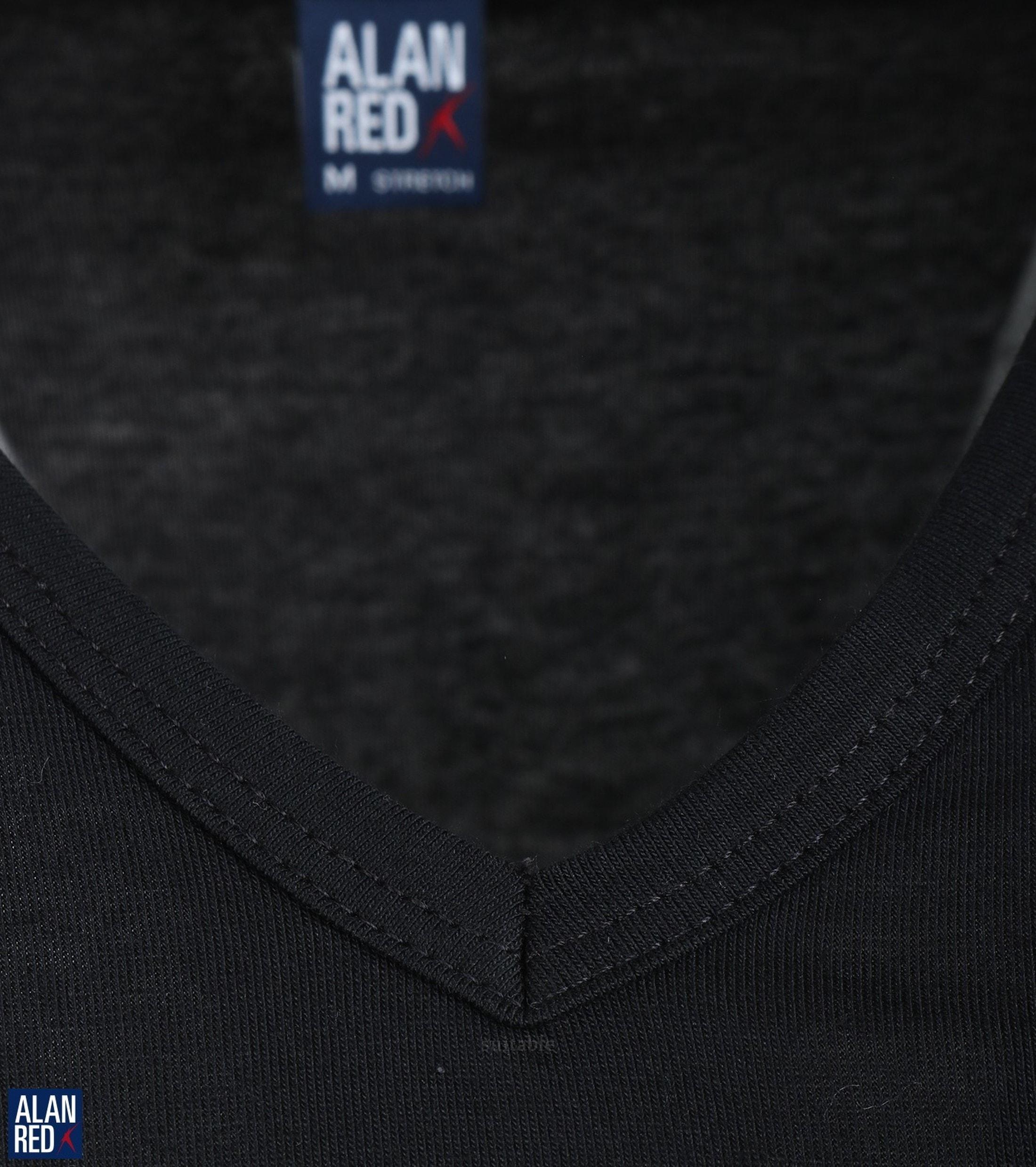 Alan Red Oklahoma T-shirt Stretch Zwart (1pack) foto 2