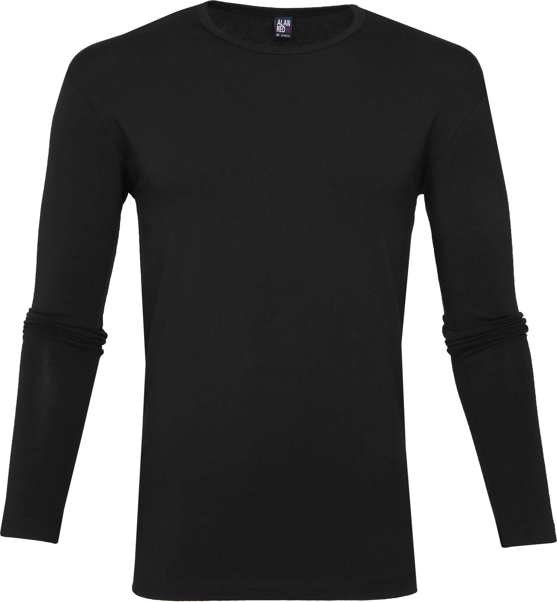 Alan Red Olbia Longsleeve T-shirt Black foto 0