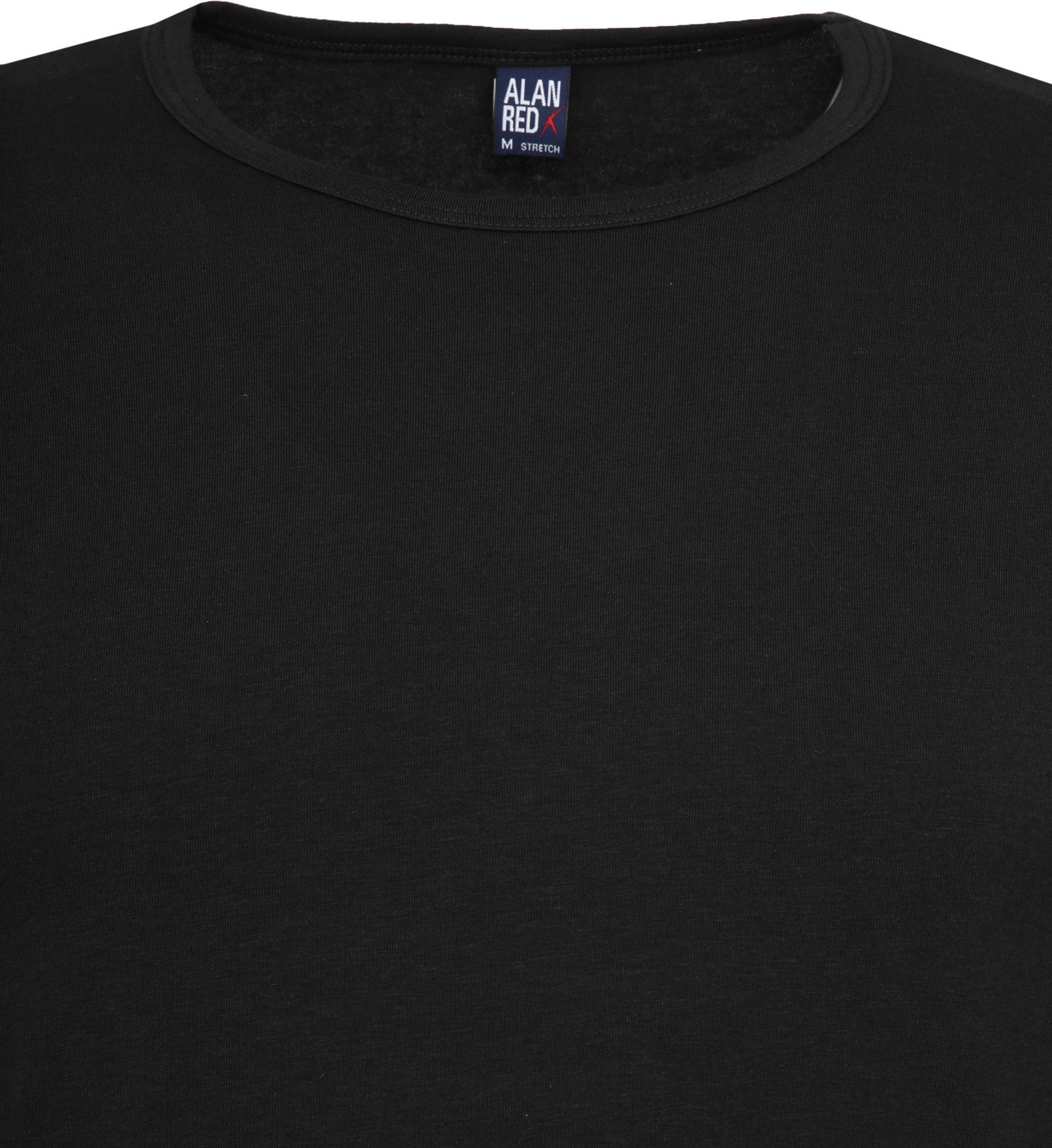 Alan Red Olbia Longsleeve T-shirt Black foto 1