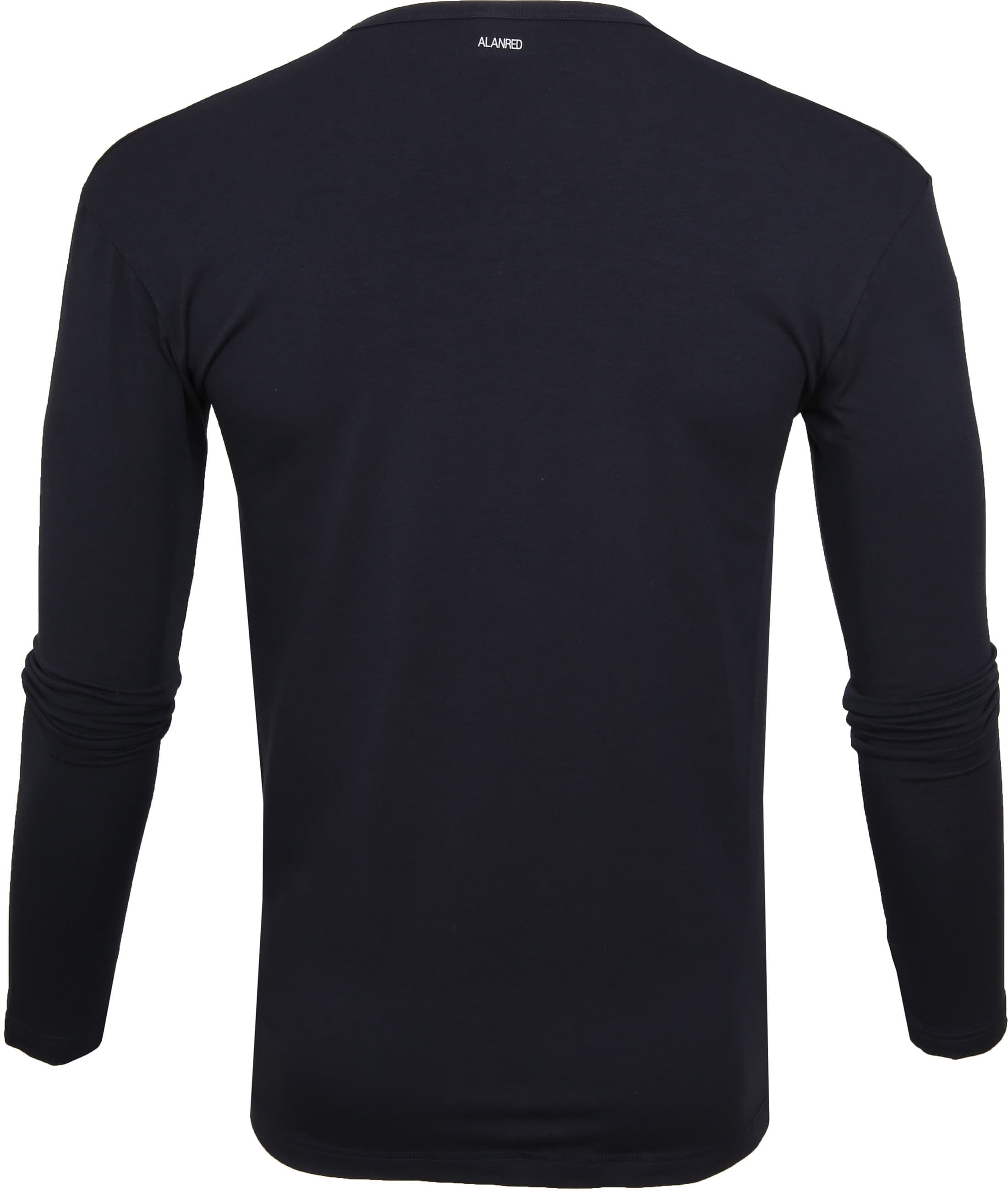 Alan Red Olbia Longsleeve T-shirt Navy foto 2
