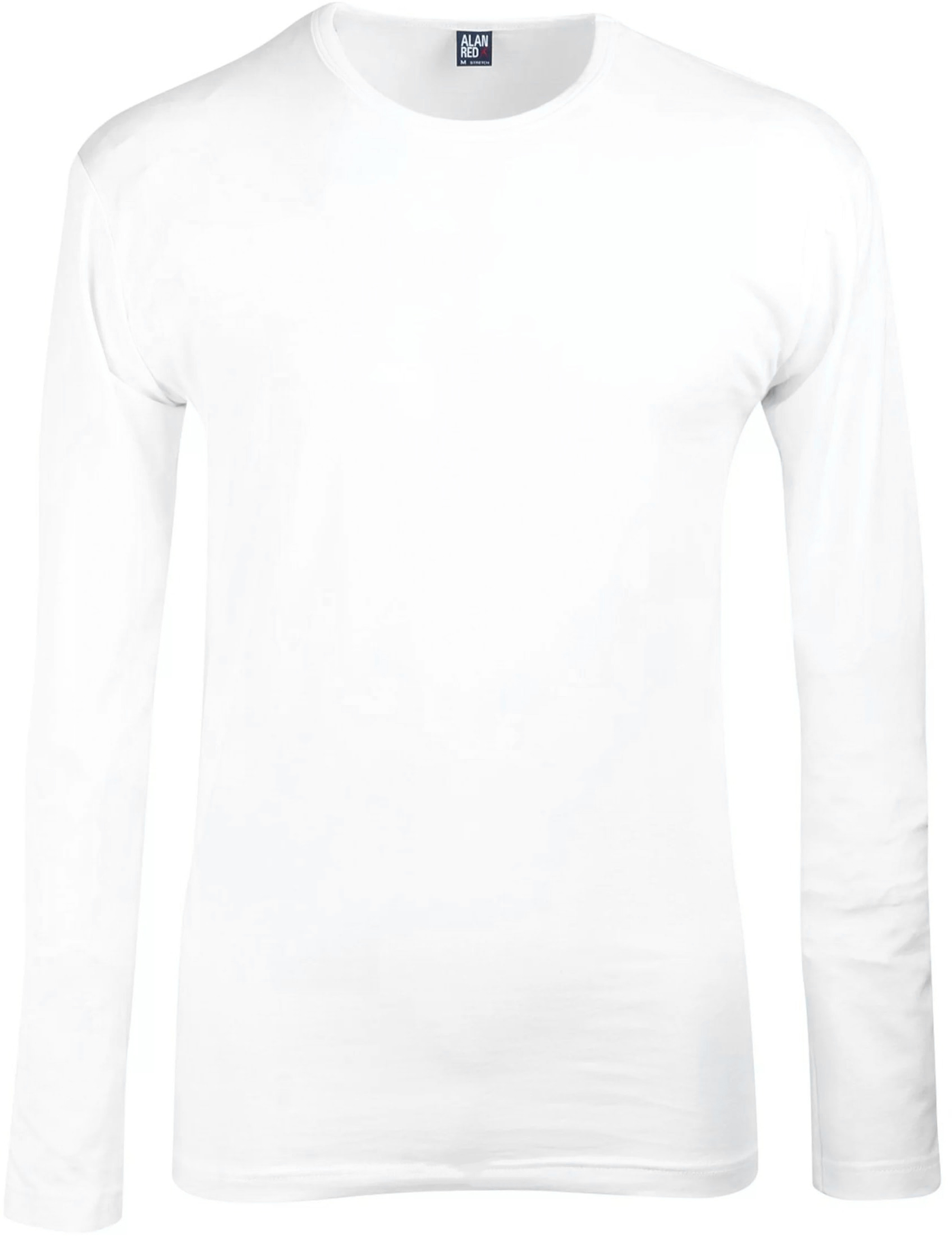 Alan Red Olbia Longsleeve White 1-Pack foto 0