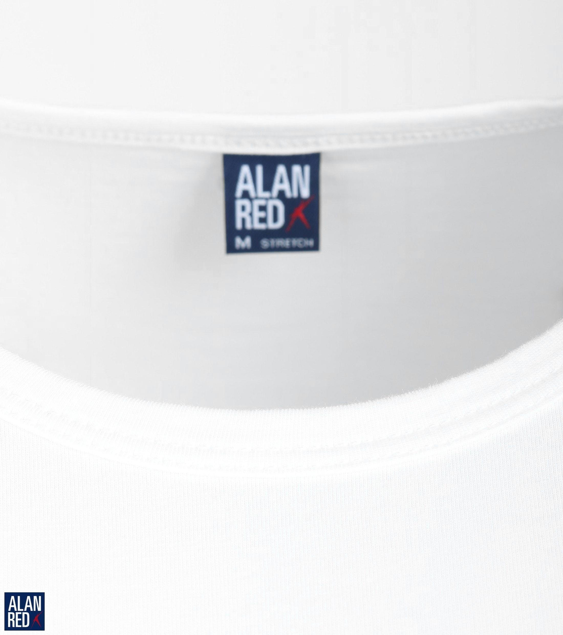 Alan Red Olbia Longsleeve Wit (1Pack) foto 1