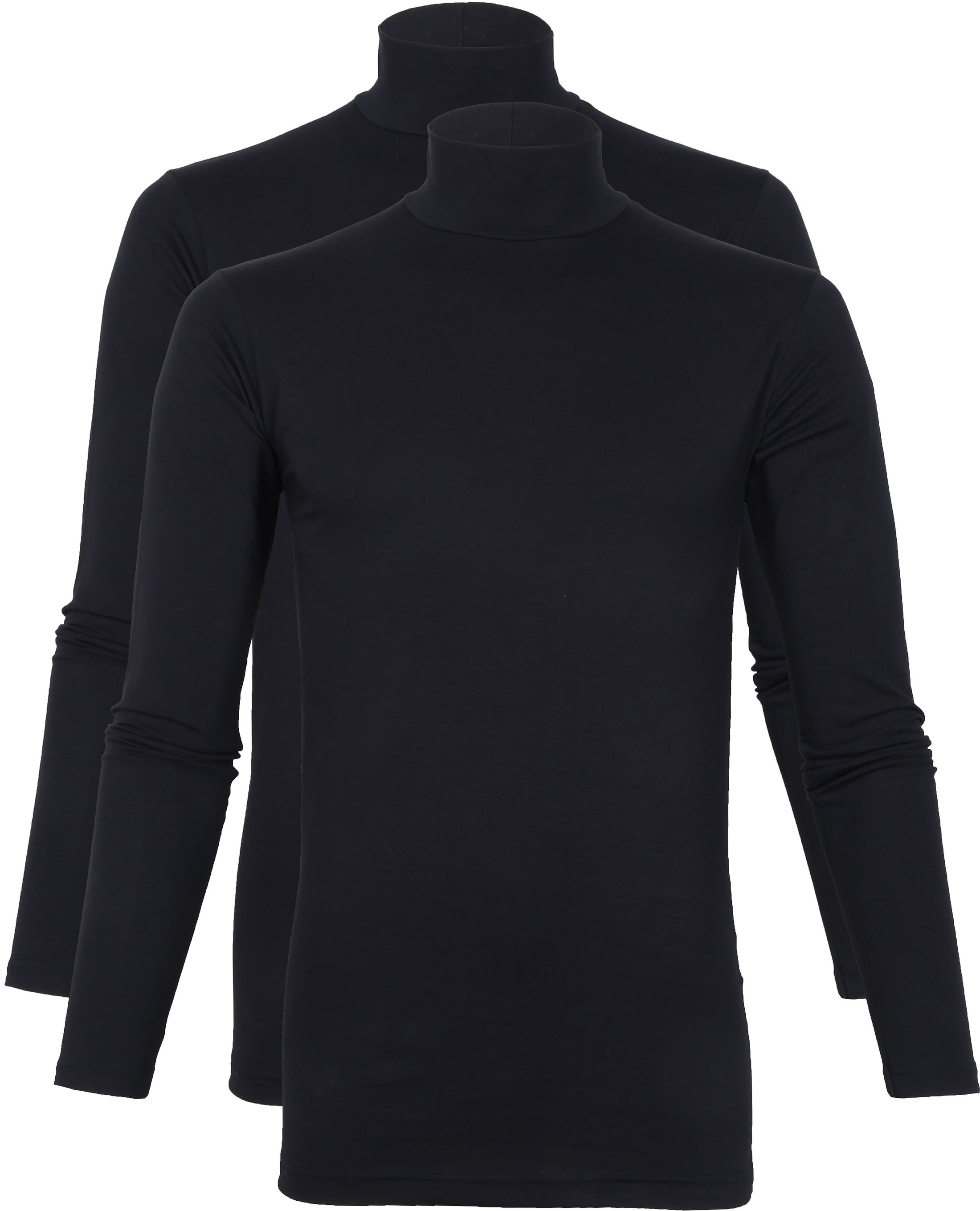 Alan Red Oster Col Longsleeve Shirt Donkerblauw 2-Pack