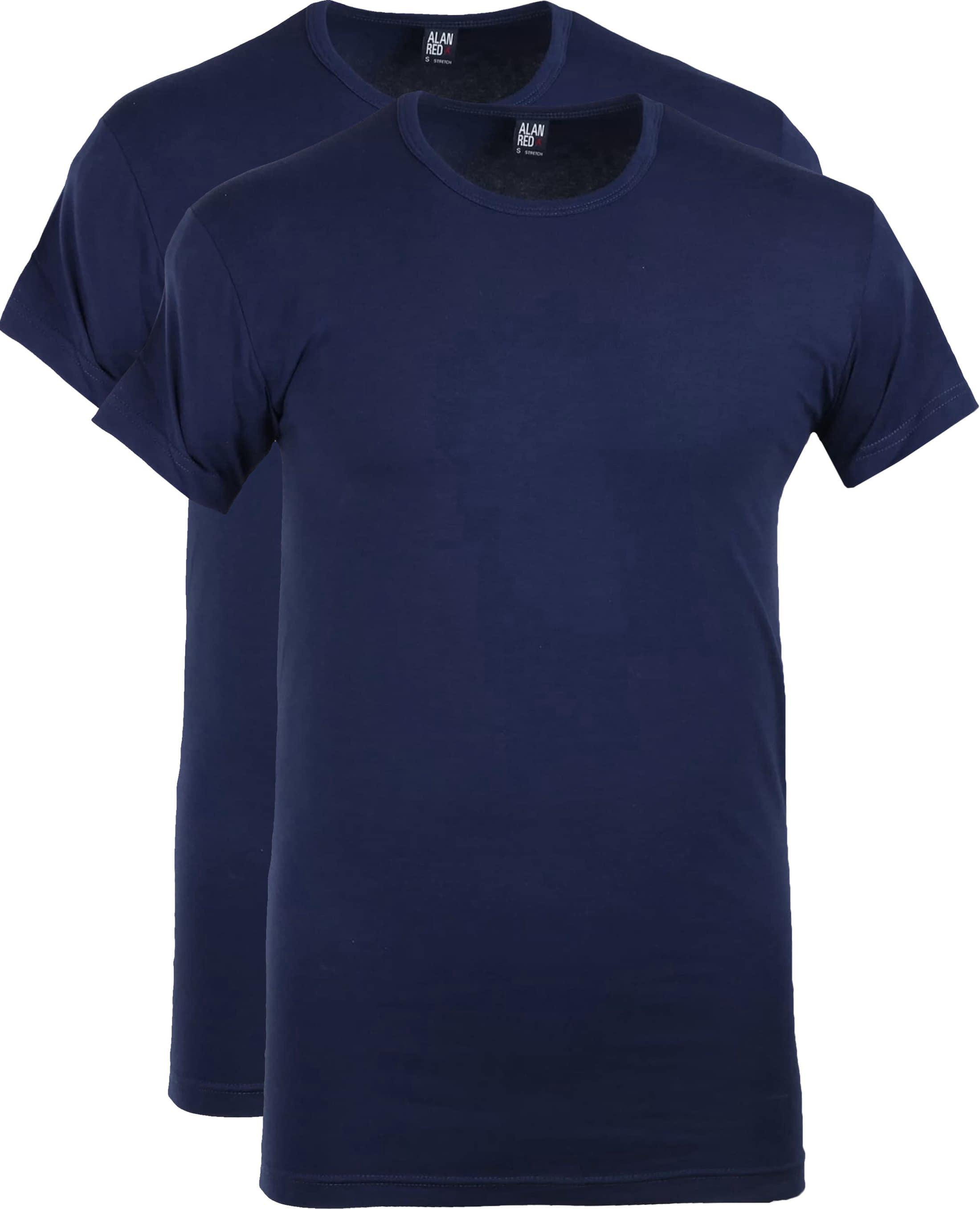 Alan Red Ottawa T-shirt Stretch Ultra Marine (2Pack) foto 0