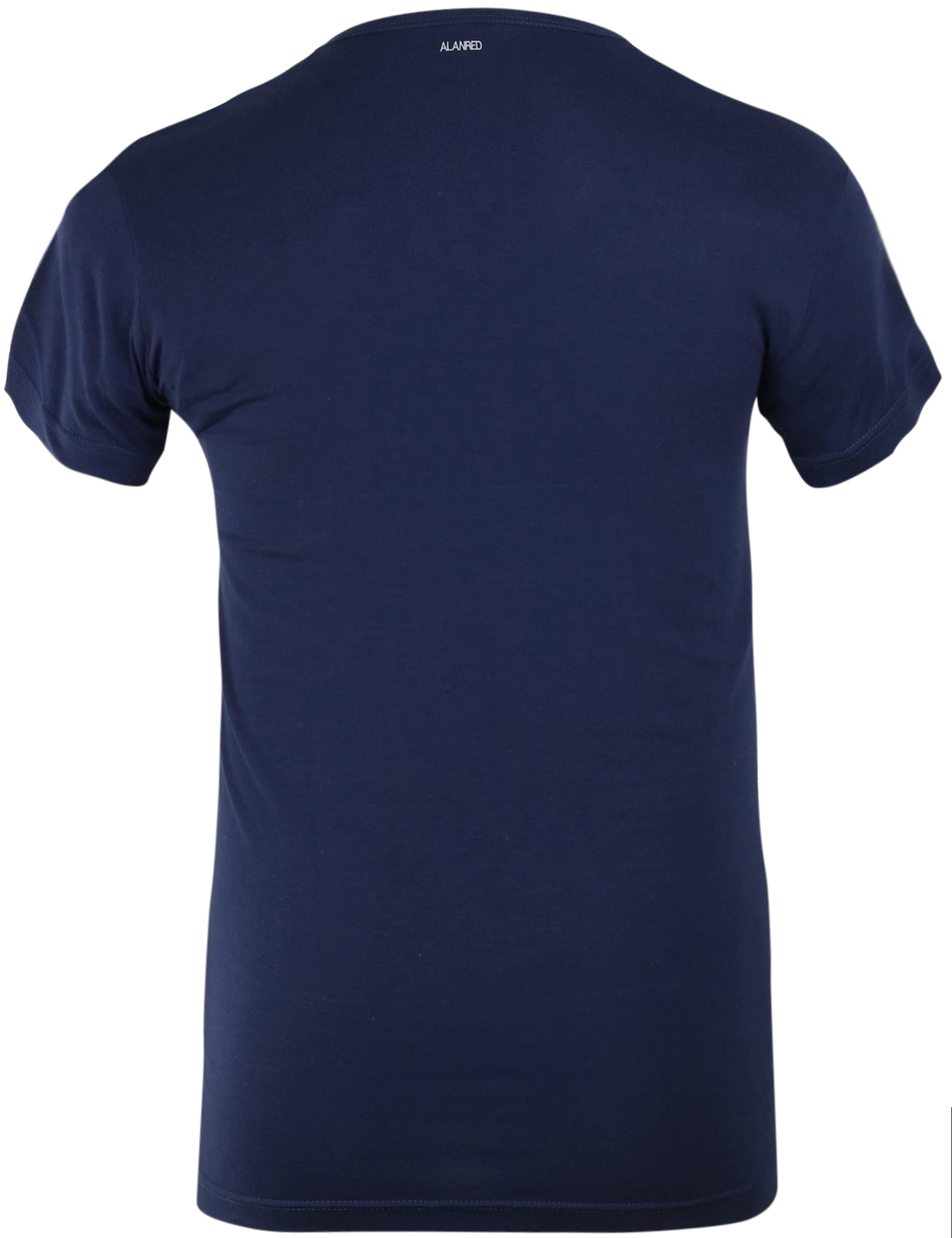 Alan Red Ottawa T-shirt Stretch Ultra Marine (2Pack) foto 2