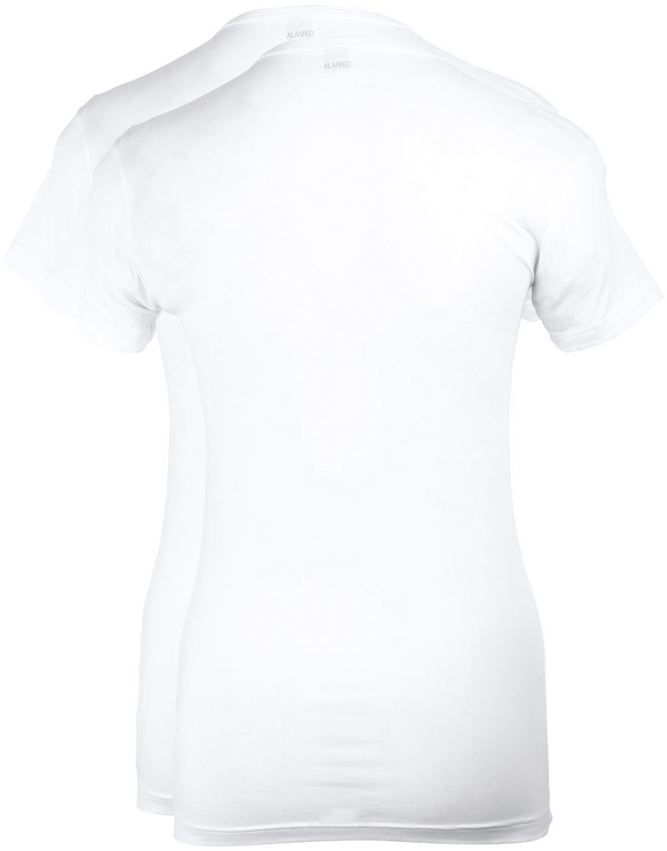 Alan Red Ottawa T-shirt Stretch White 2-Pack foto 2