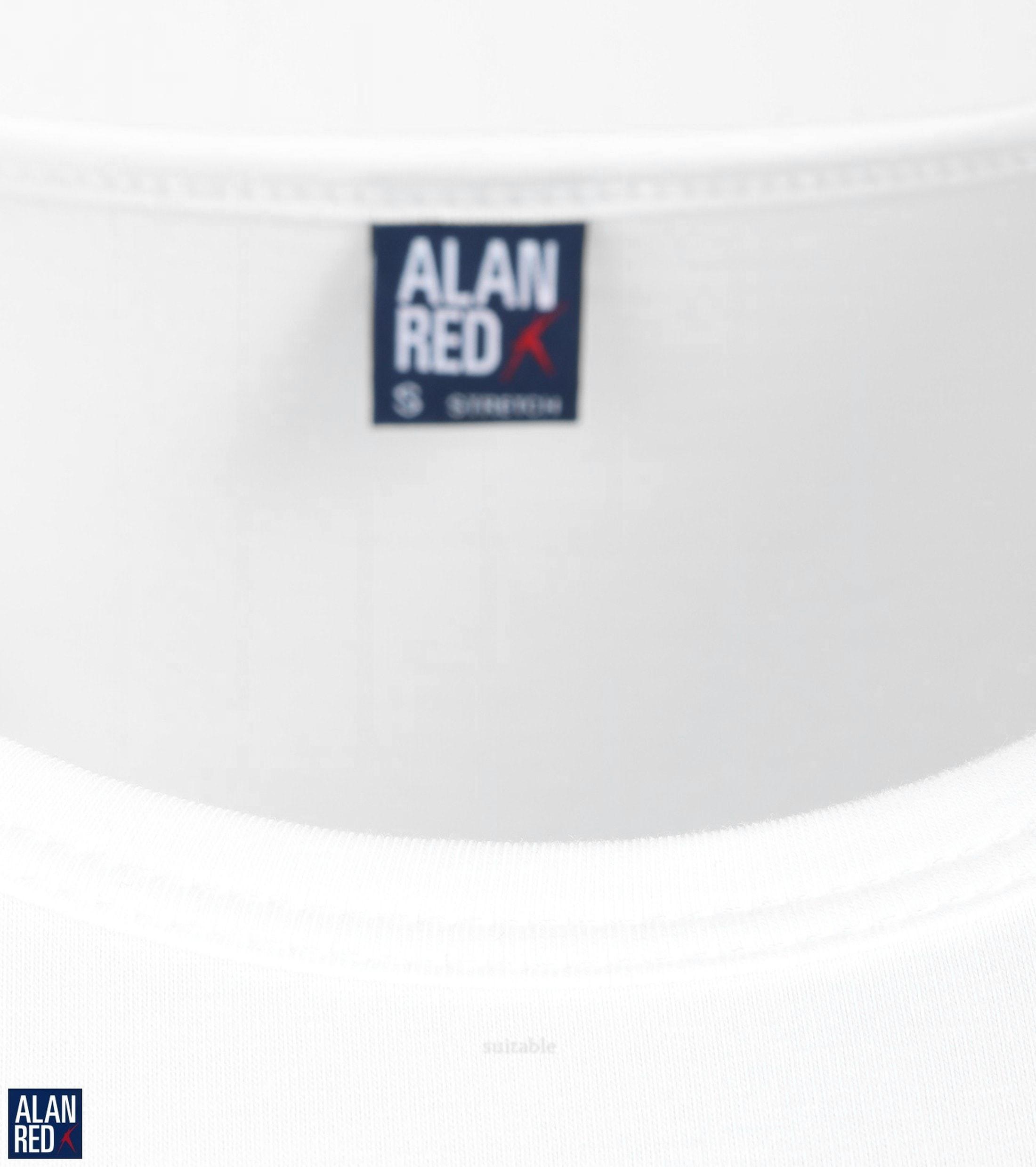 Alan Red Ottawa T-shirt Stretch Wit (2Pack) foto 1