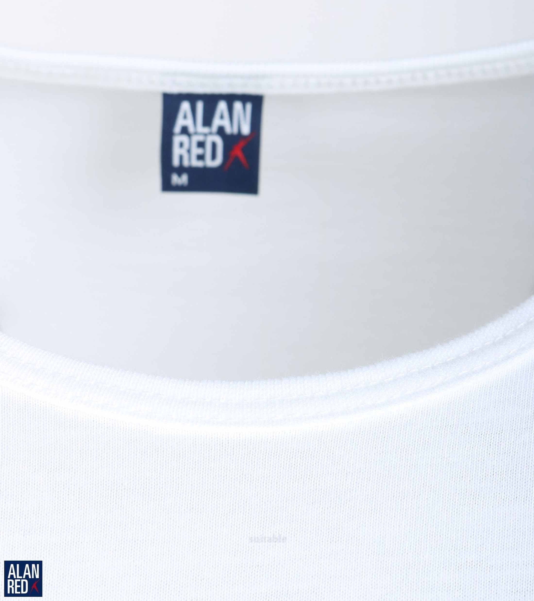 Alan Red T-Shirt Derby Weiß  (2er-Pack) foto 1