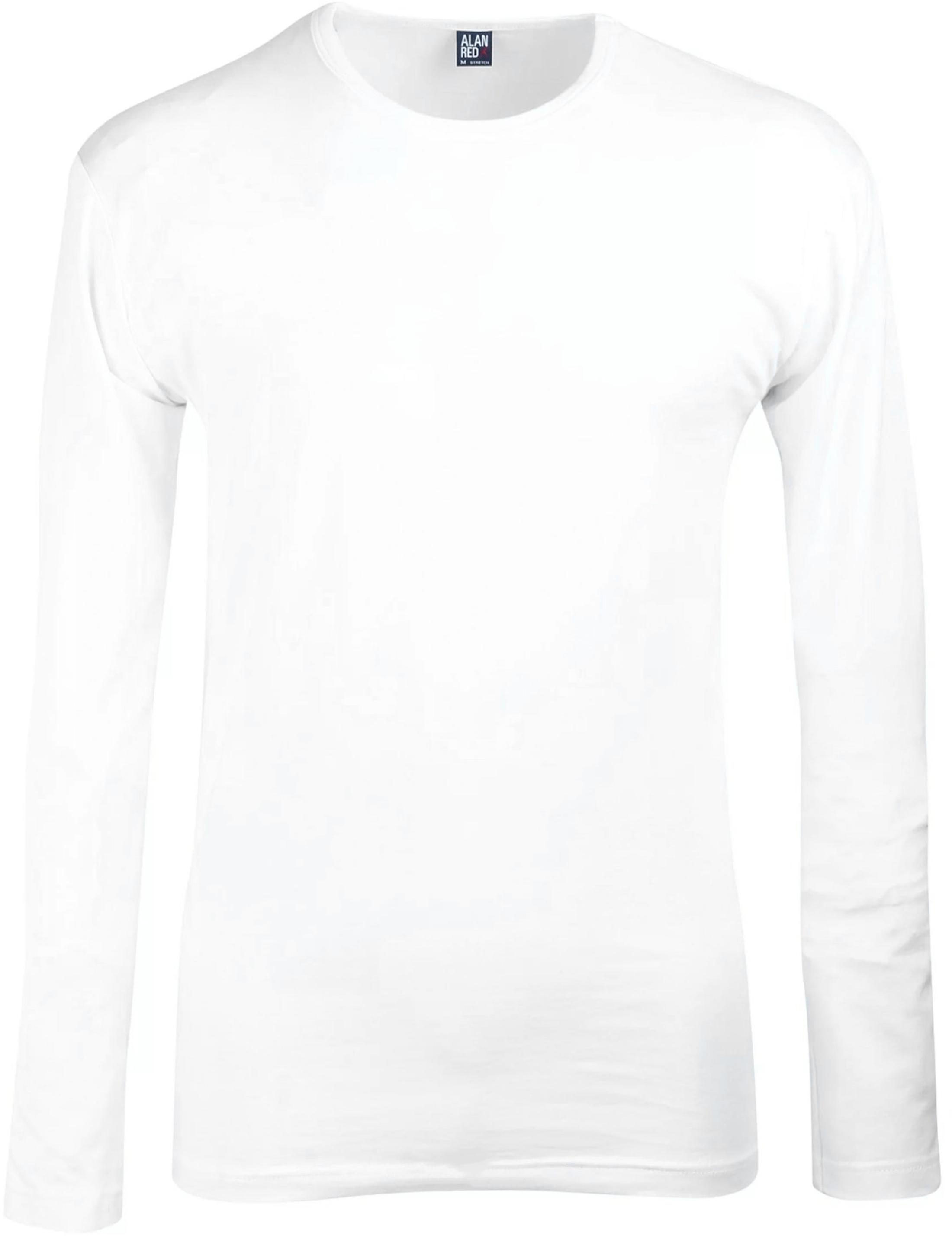 Alan Red T-Shirt Longsleeve Olbia Foto 0
