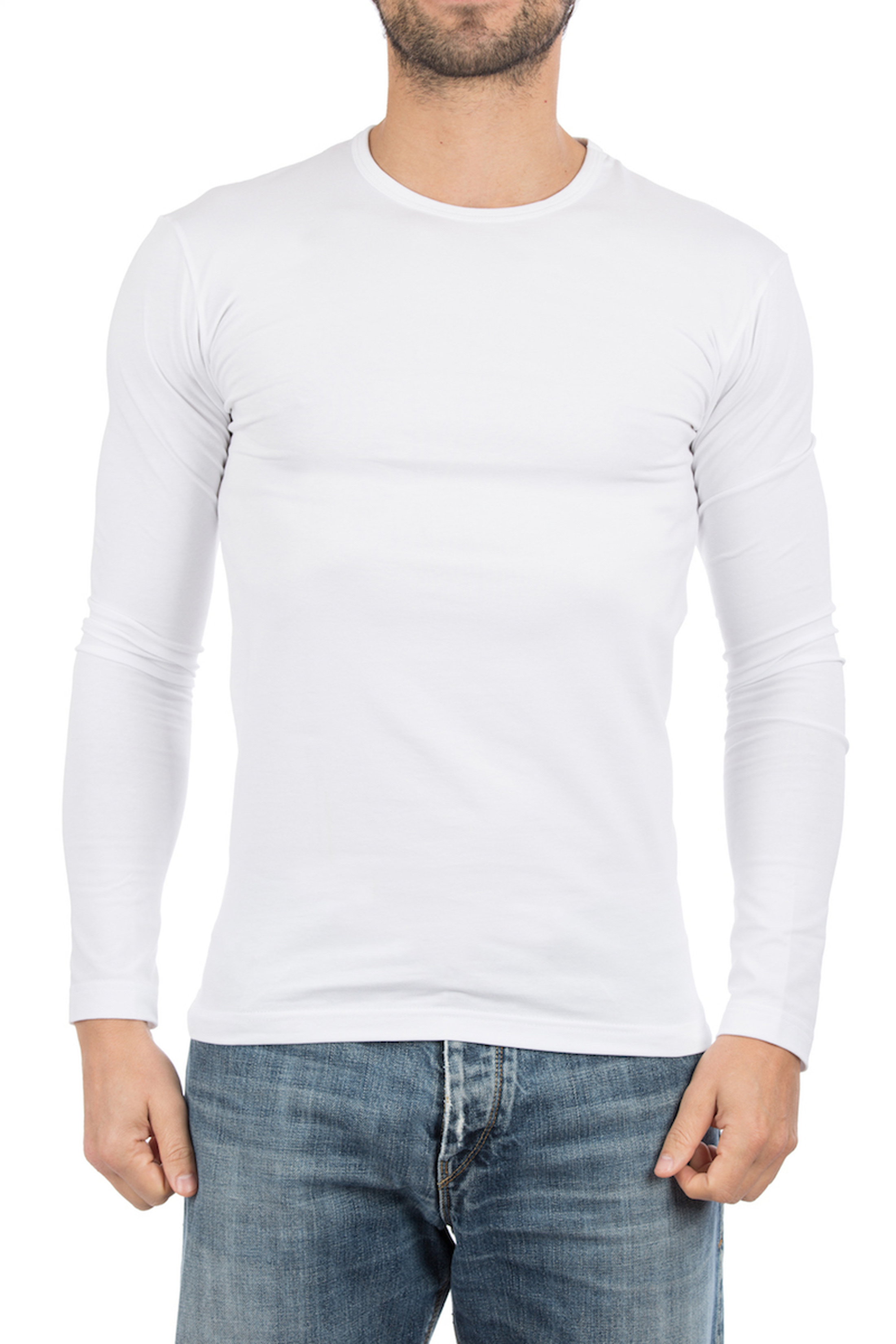 Alan Red T-Shirt Longsleeve Olbia Foto 4