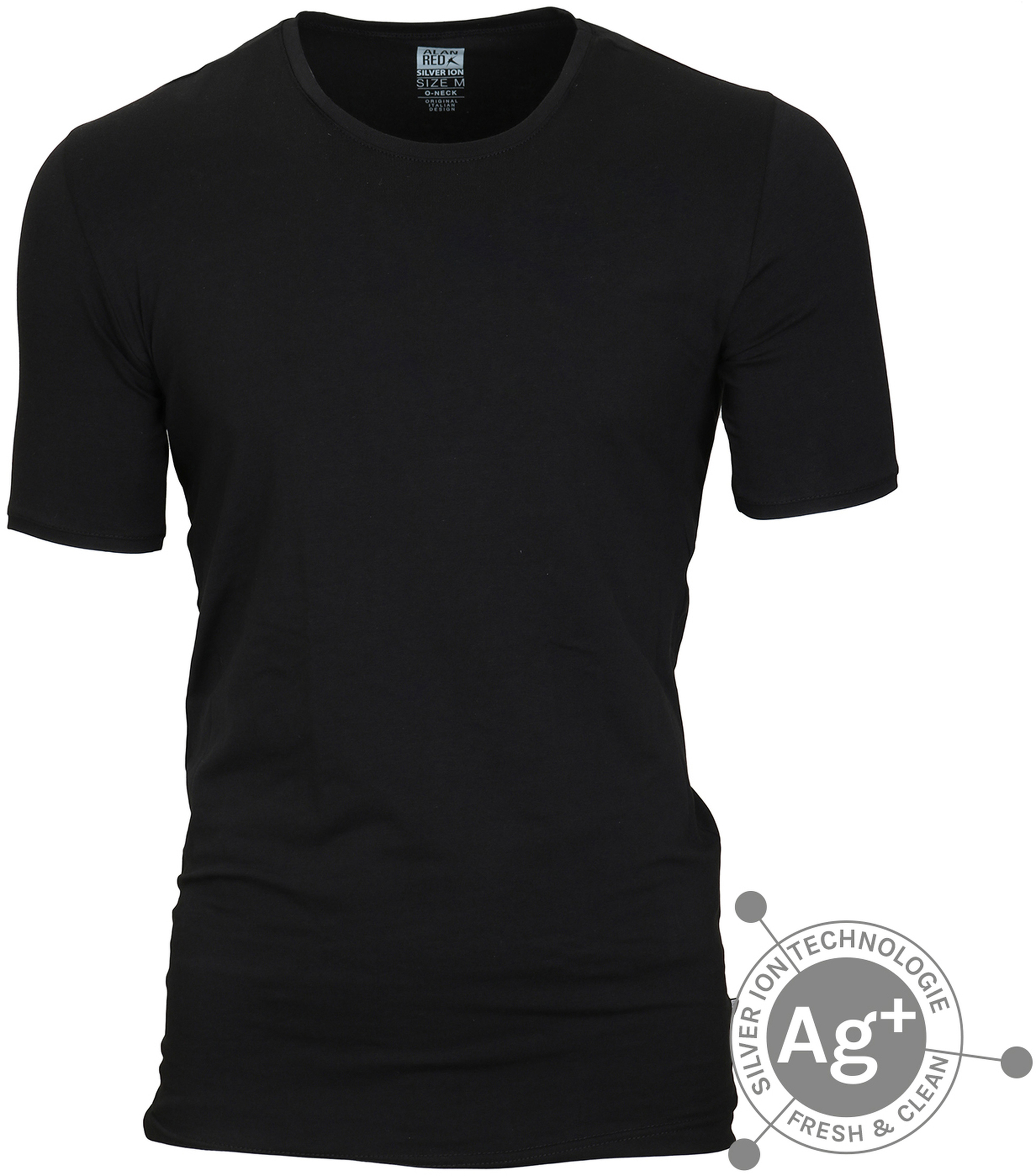 Alan Red T-shirt Osaka Zwart