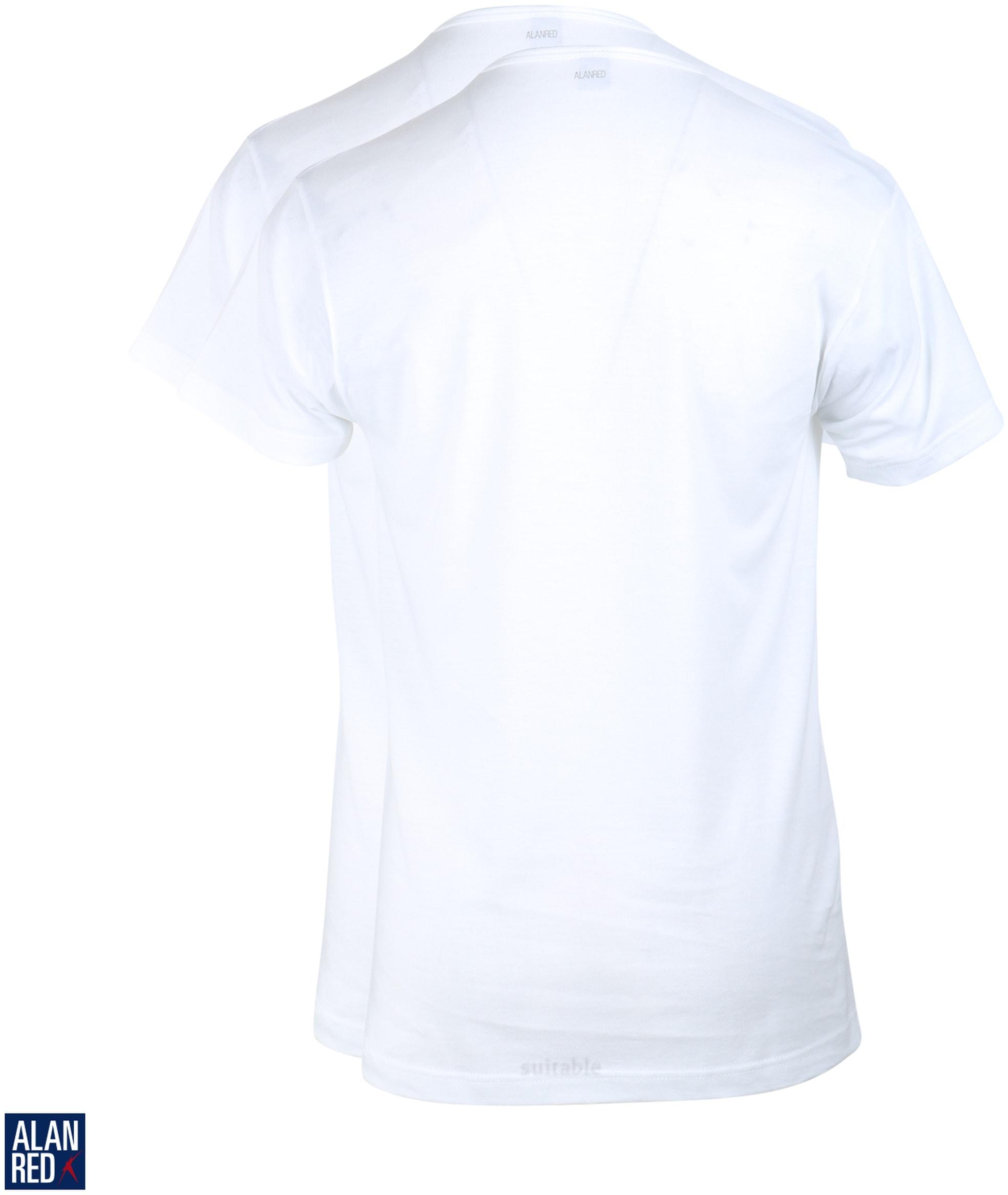 Alan Red T-Shirt V-Ausschnitt Vermont (2er-Pack) foto 2