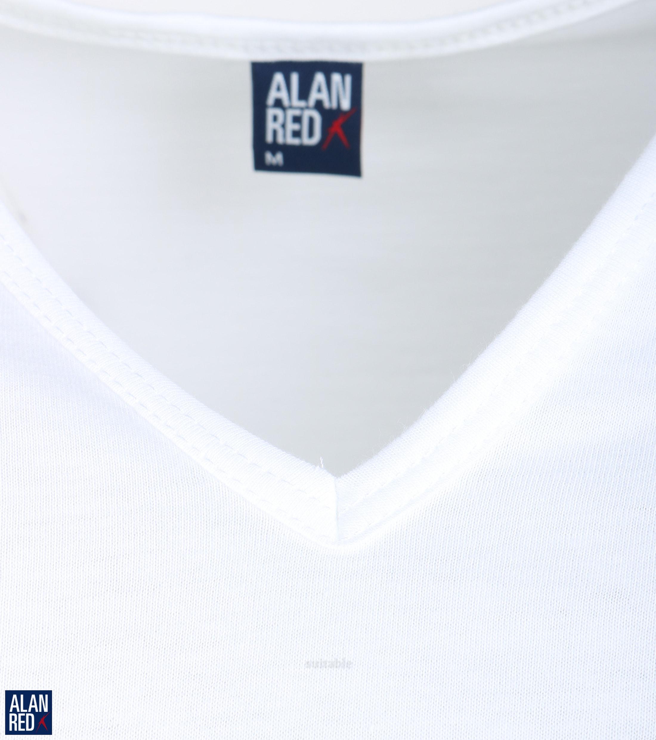 Alan Red T-Shirt V-Ausschnitt Vermont (2er-Pack) foto 1