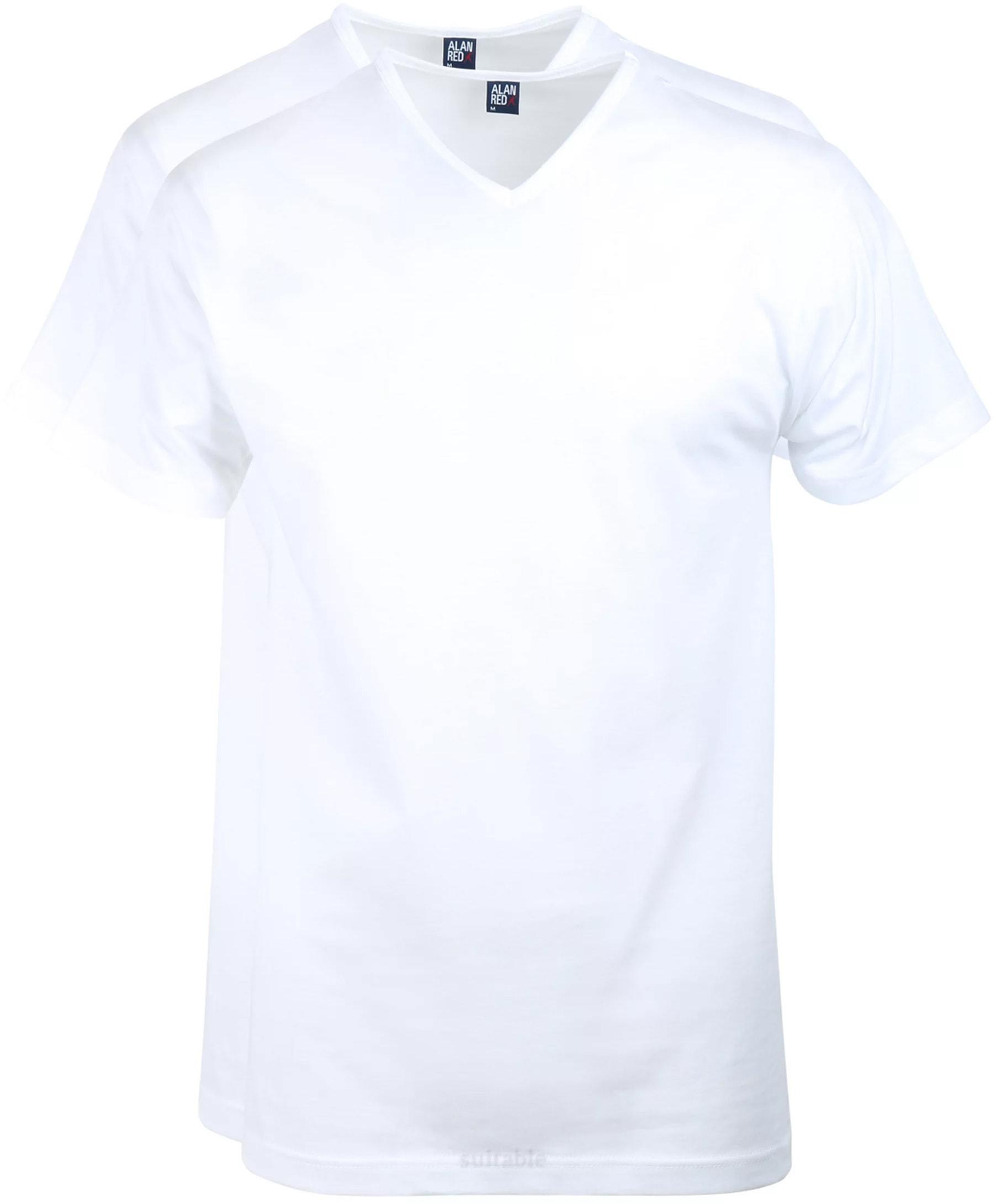 Alan Red T-Shirt V-Ausschnitt Vermont (2er-Pack) foto 0