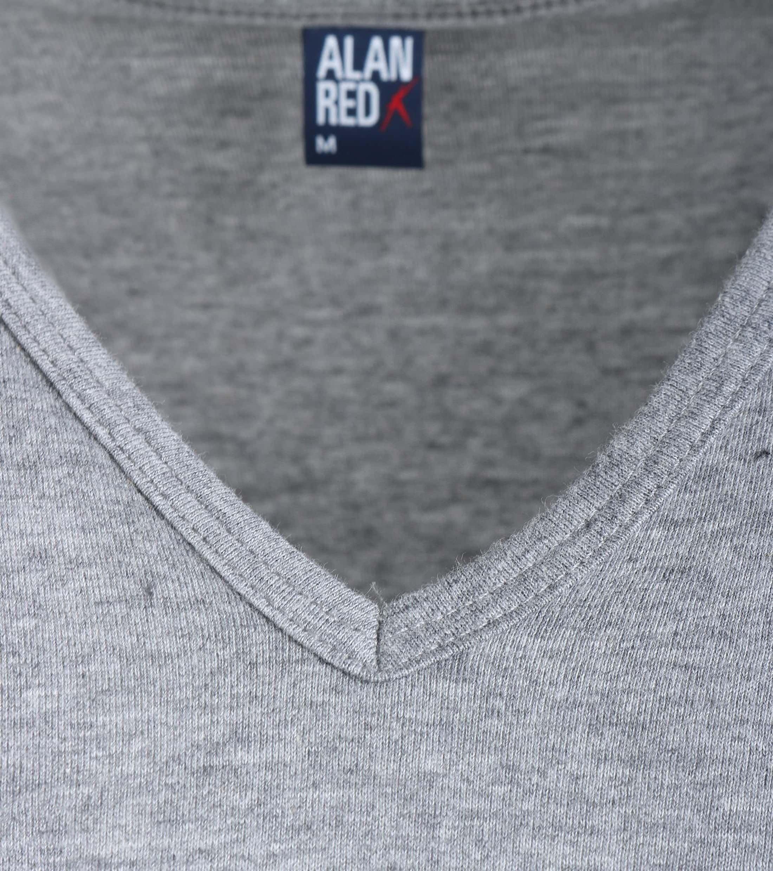 Alan Red T-Shirt V-Ausschnitt Vermont Mausgrau (1er- Pack) foto 1