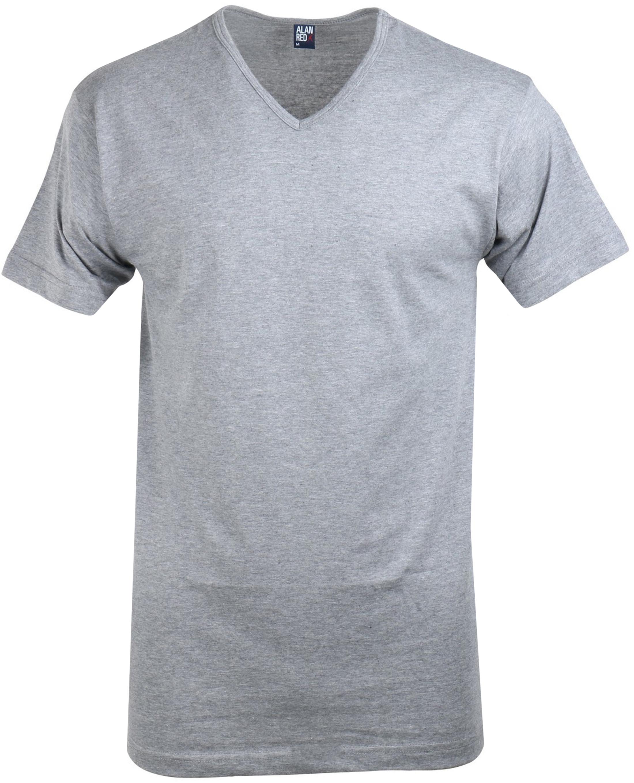 Alan Red T-Shirt V-Ausschnitt Vermont Mausgrau (1er- Pack) foto 0