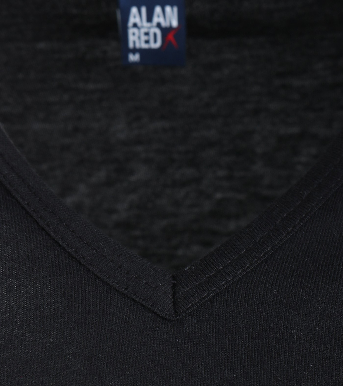 Alan Red T-Shirt V-Ausschnitt Vermont Schwarz (1er-Pack) foto 1