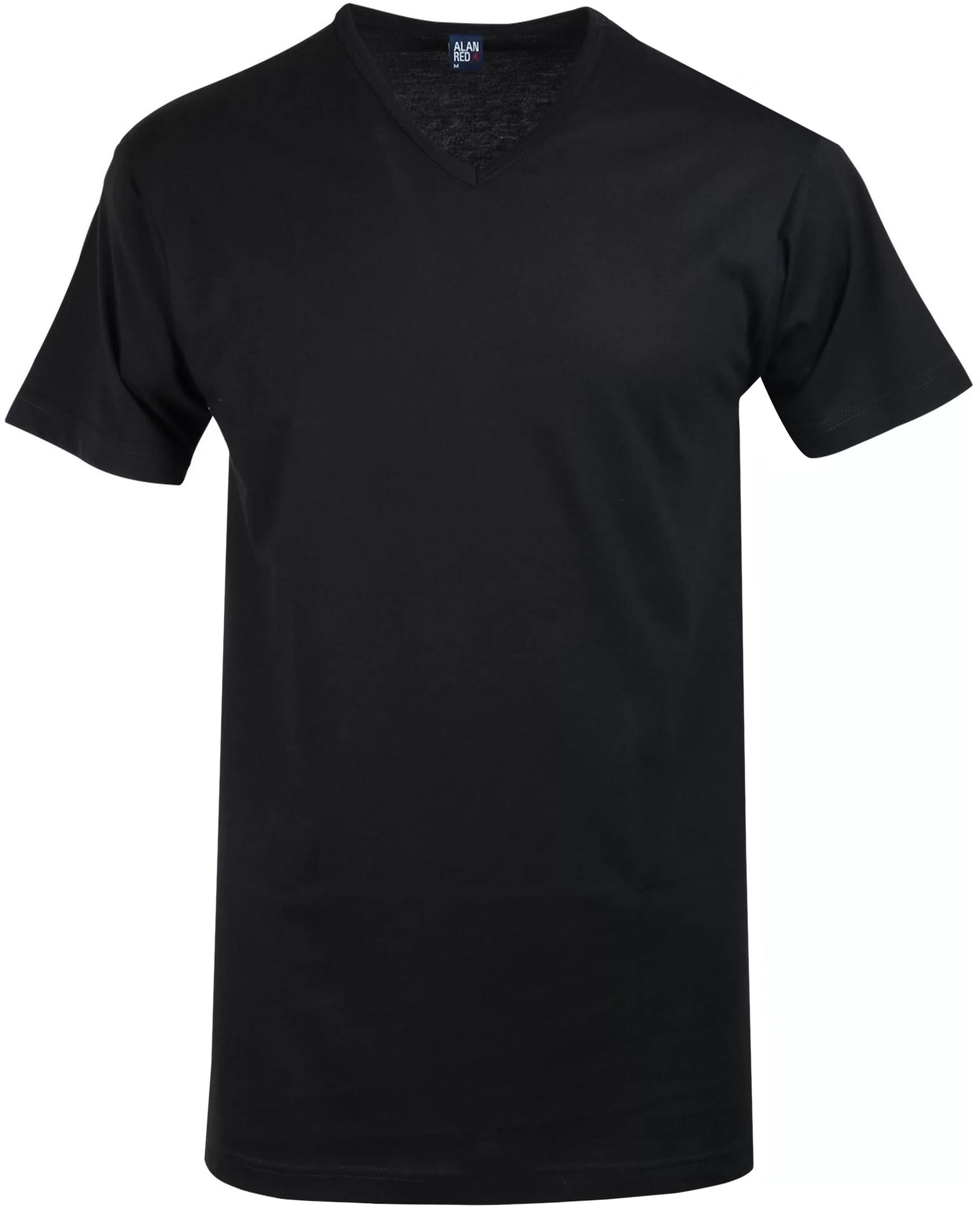 Alan Red T-Shirt V-Ausschnitt Vermont Schwarz (1er-Pack) foto 0