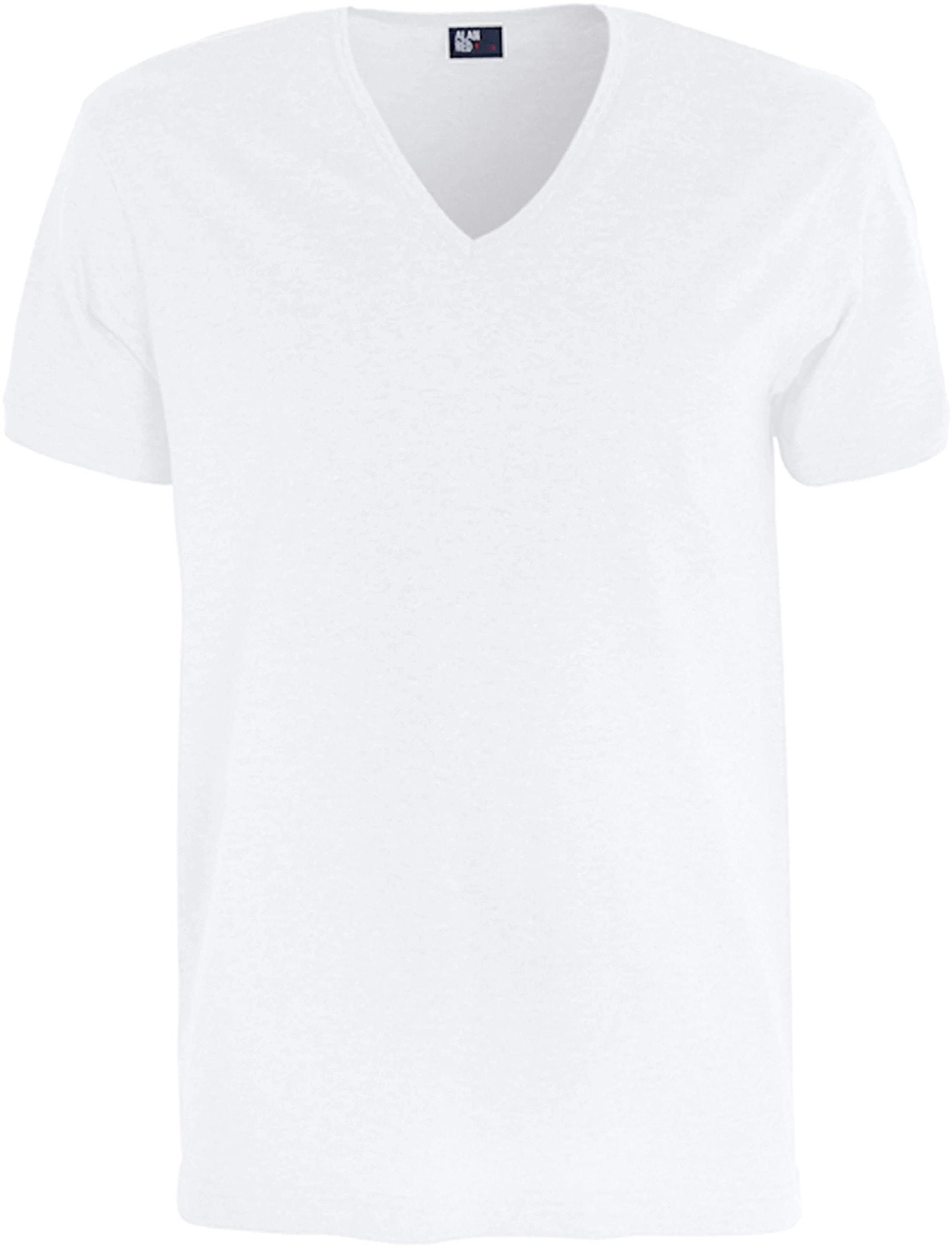 Alan Red T-Shirt Verner Tiefer V-Ausschnitt foto 0
