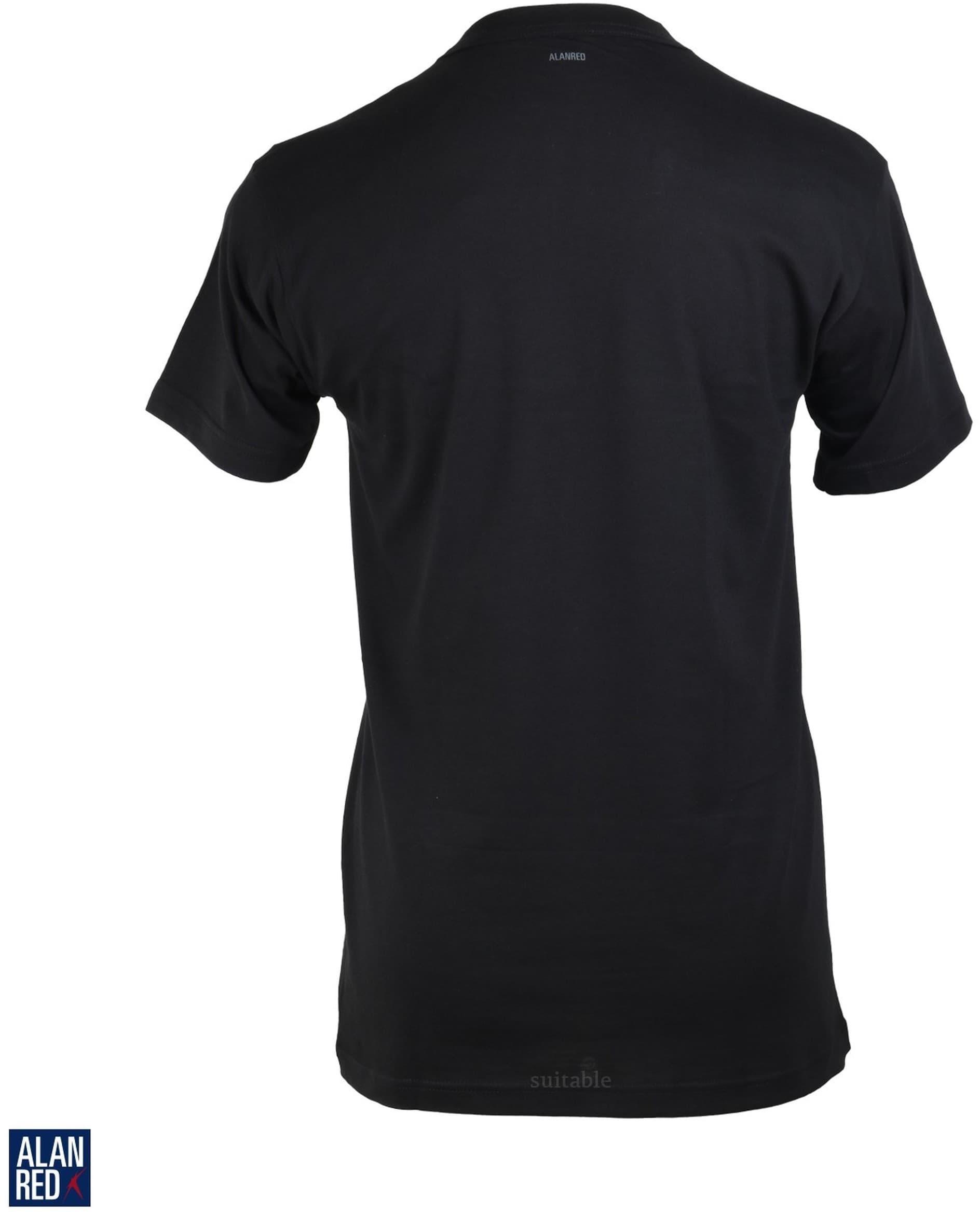 Alan Red T-shirt Virginia Black 1-Pack foto 2