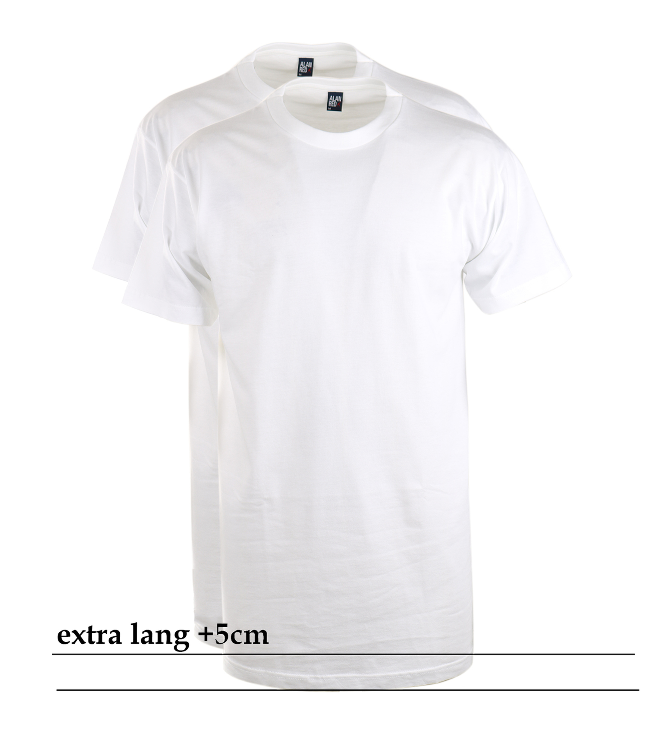 Alan Red T-Shirt Virginia Extra Long (2pack) foto 0