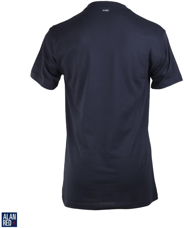 Alan Red T-shirt Virginia Navy (1pack) foto 2