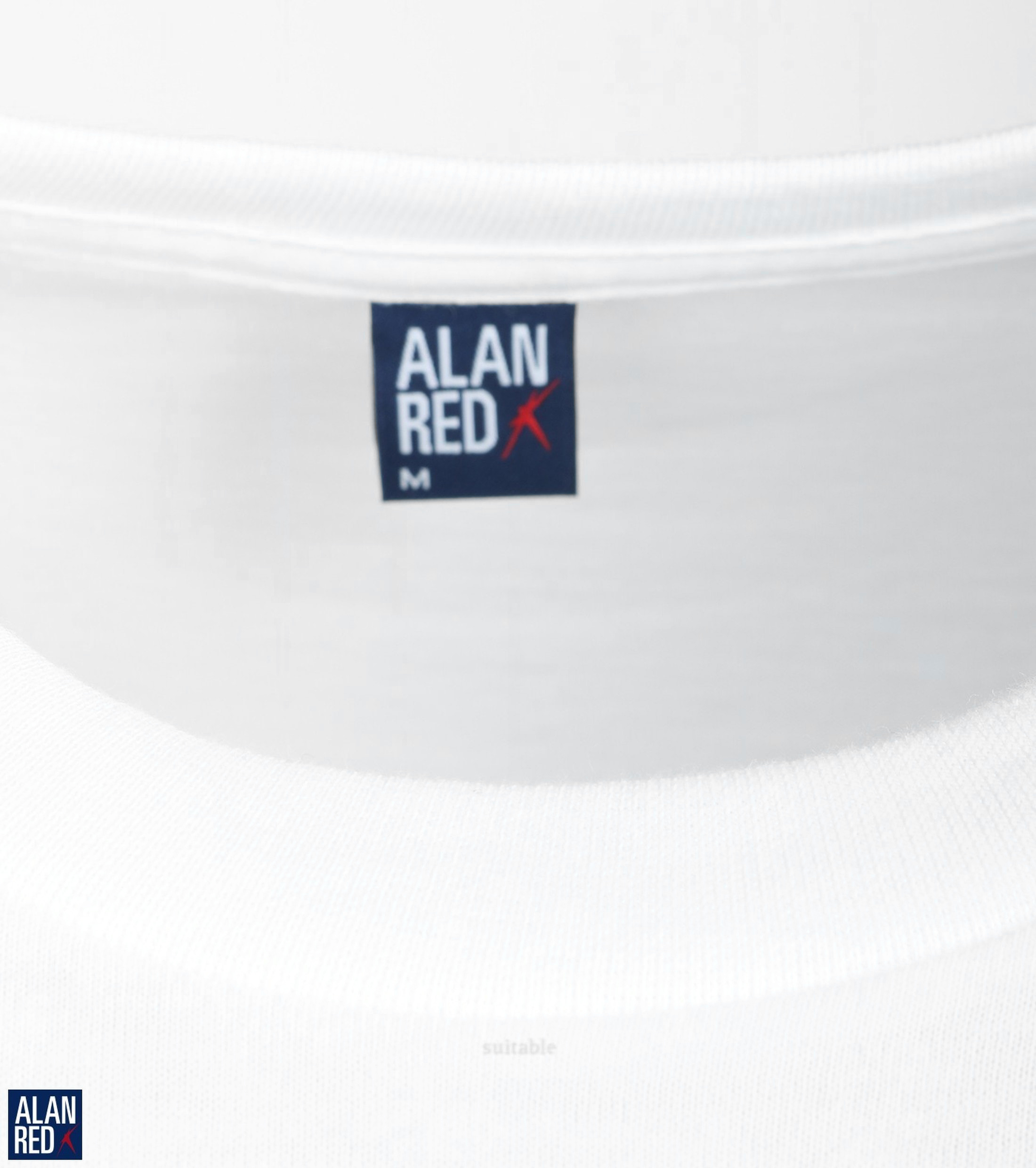 Alan Red T-shirt Virginia O-Neck 2-Pack photo 1