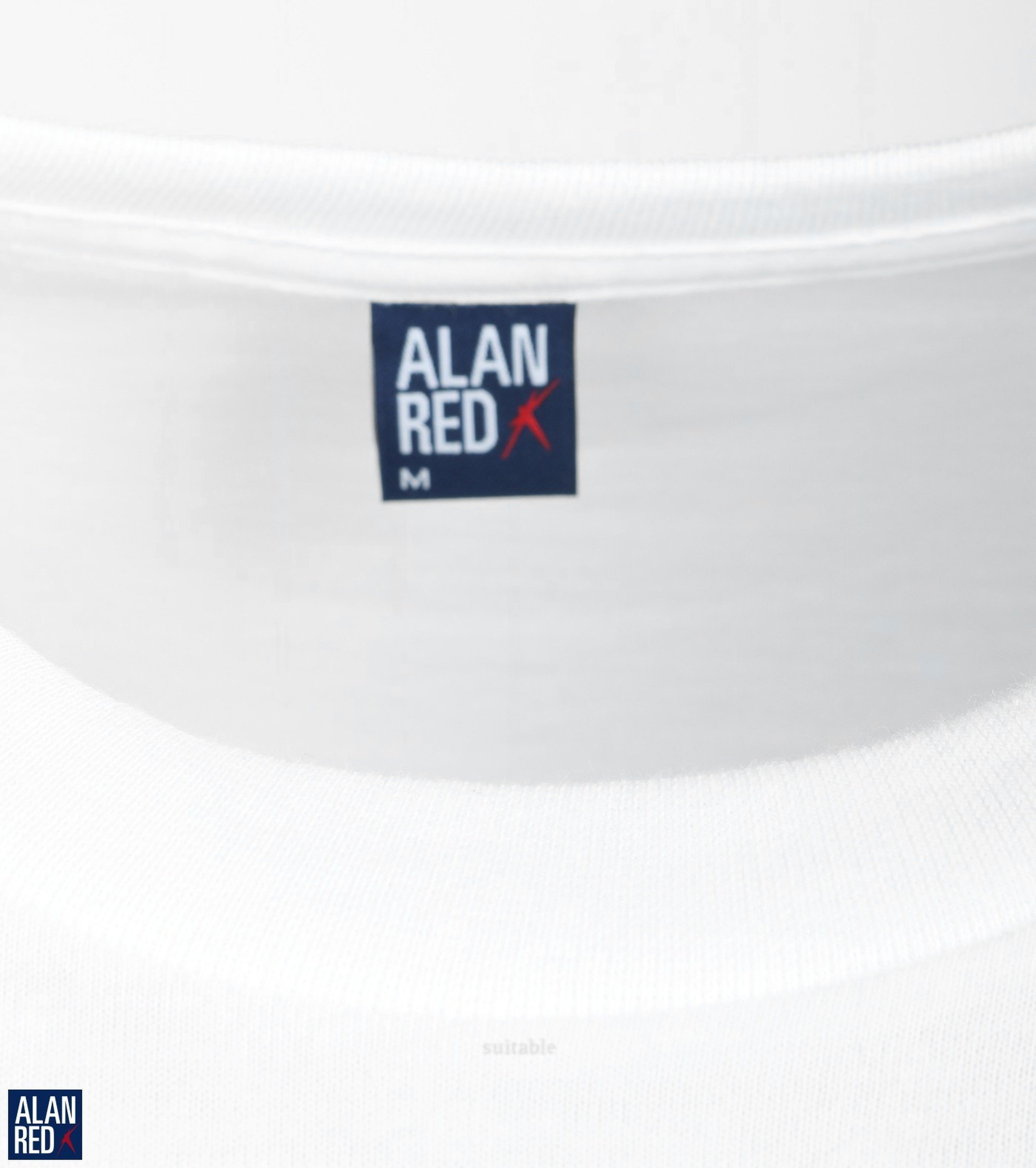 Alan Red T-shirt Virginia O-Neck 2-Pack foto 1