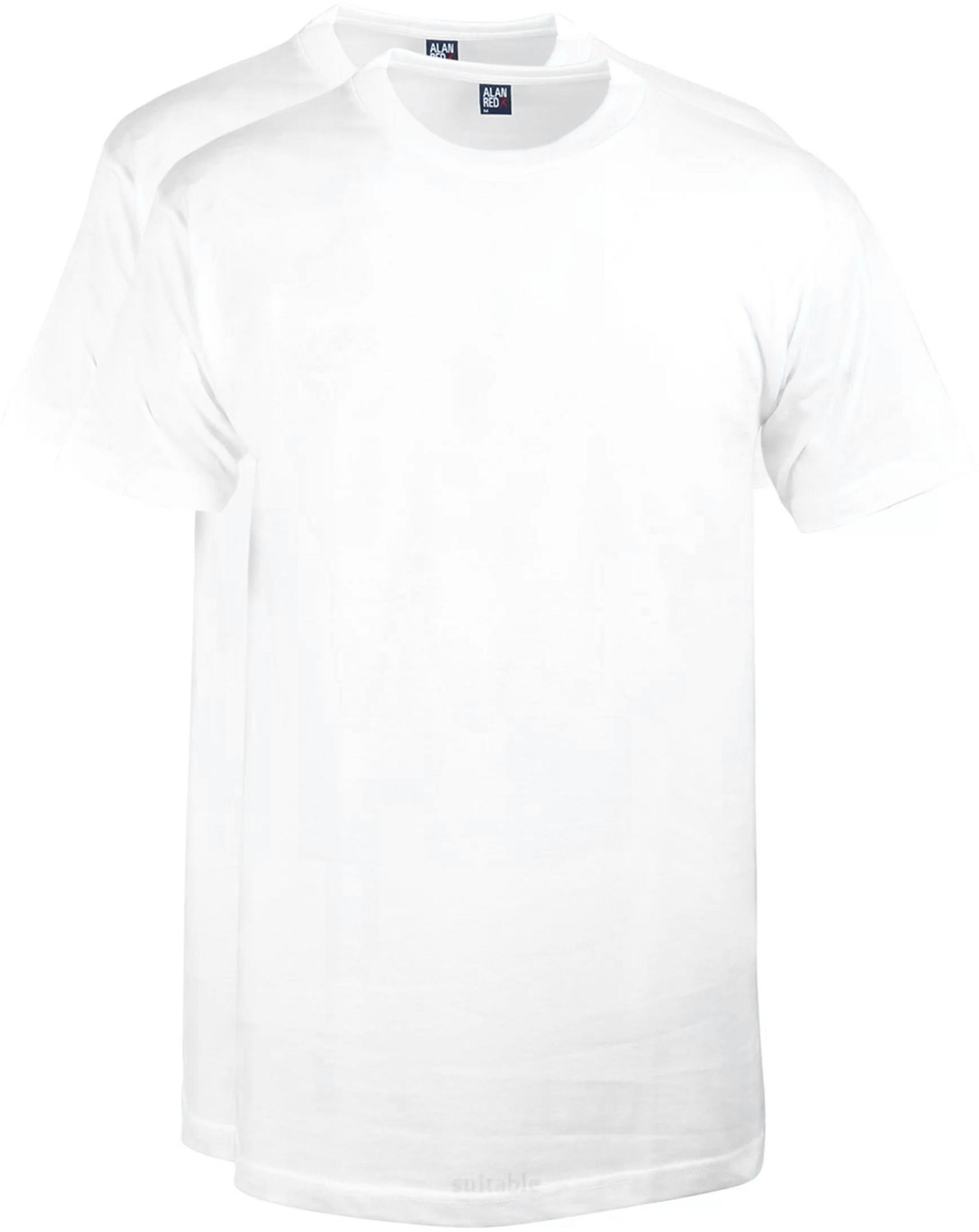Alan Red T-shirt Virginia O-Neck 2-Pack foto 0