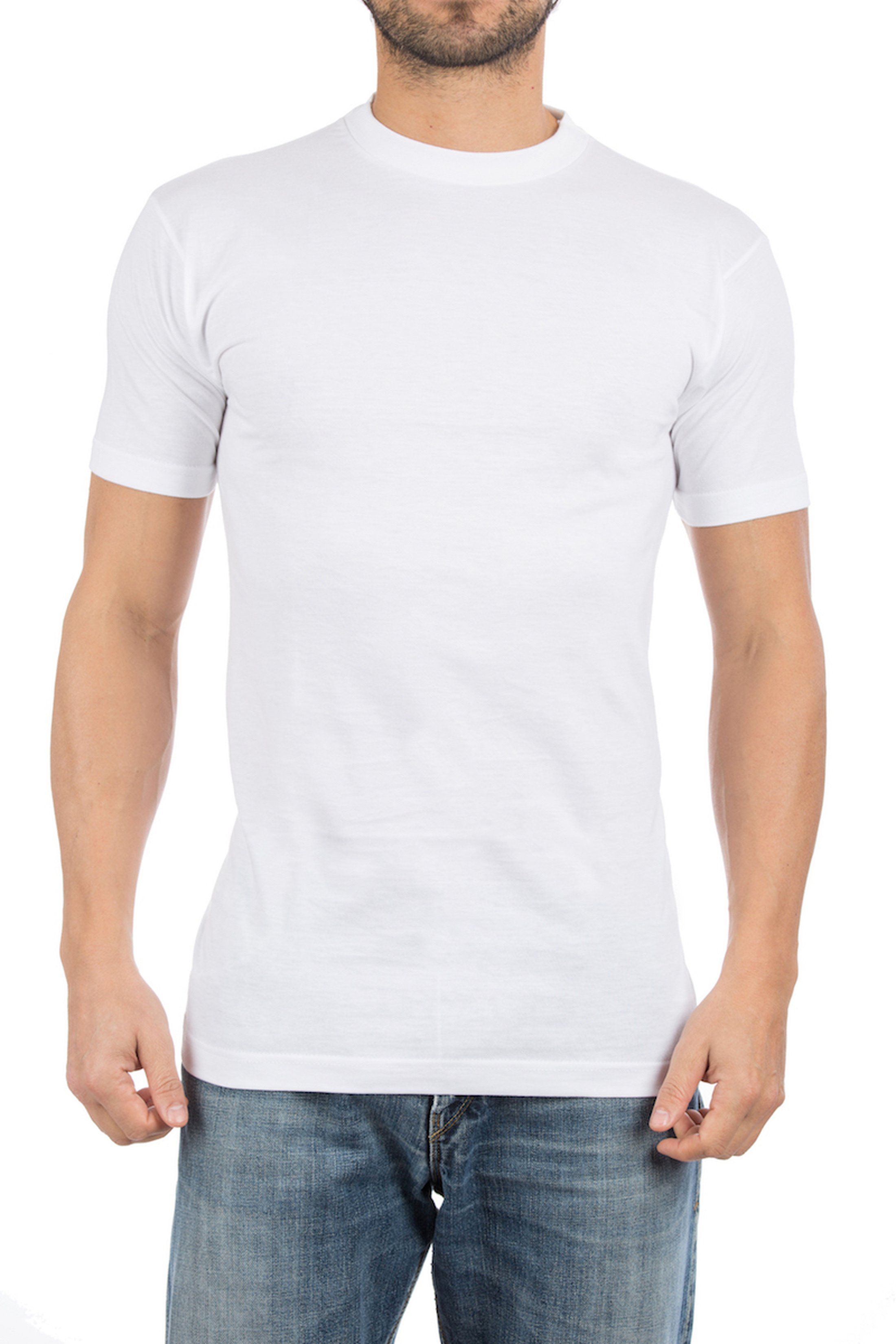 Alan Red T-shirt Virginia O-Neck 2-Pack photo 4