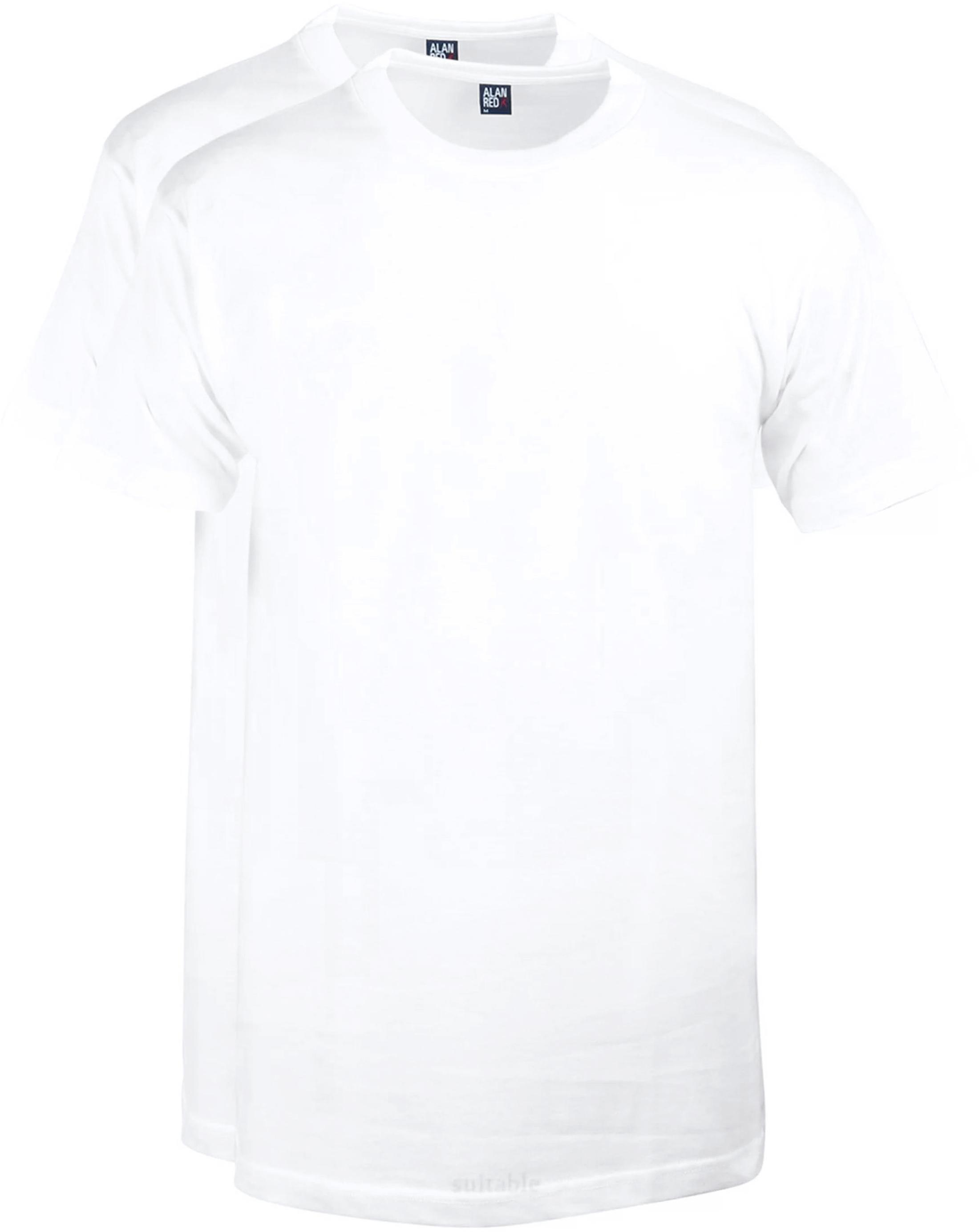 Alan Red T-Shirt Virginia Weiß (2er-Pack) foto 0