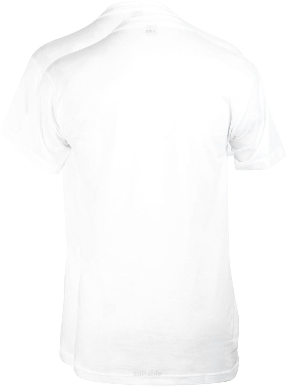 Alan Red T-Shirt Virginia Weiß (2er-Pack) foto 2