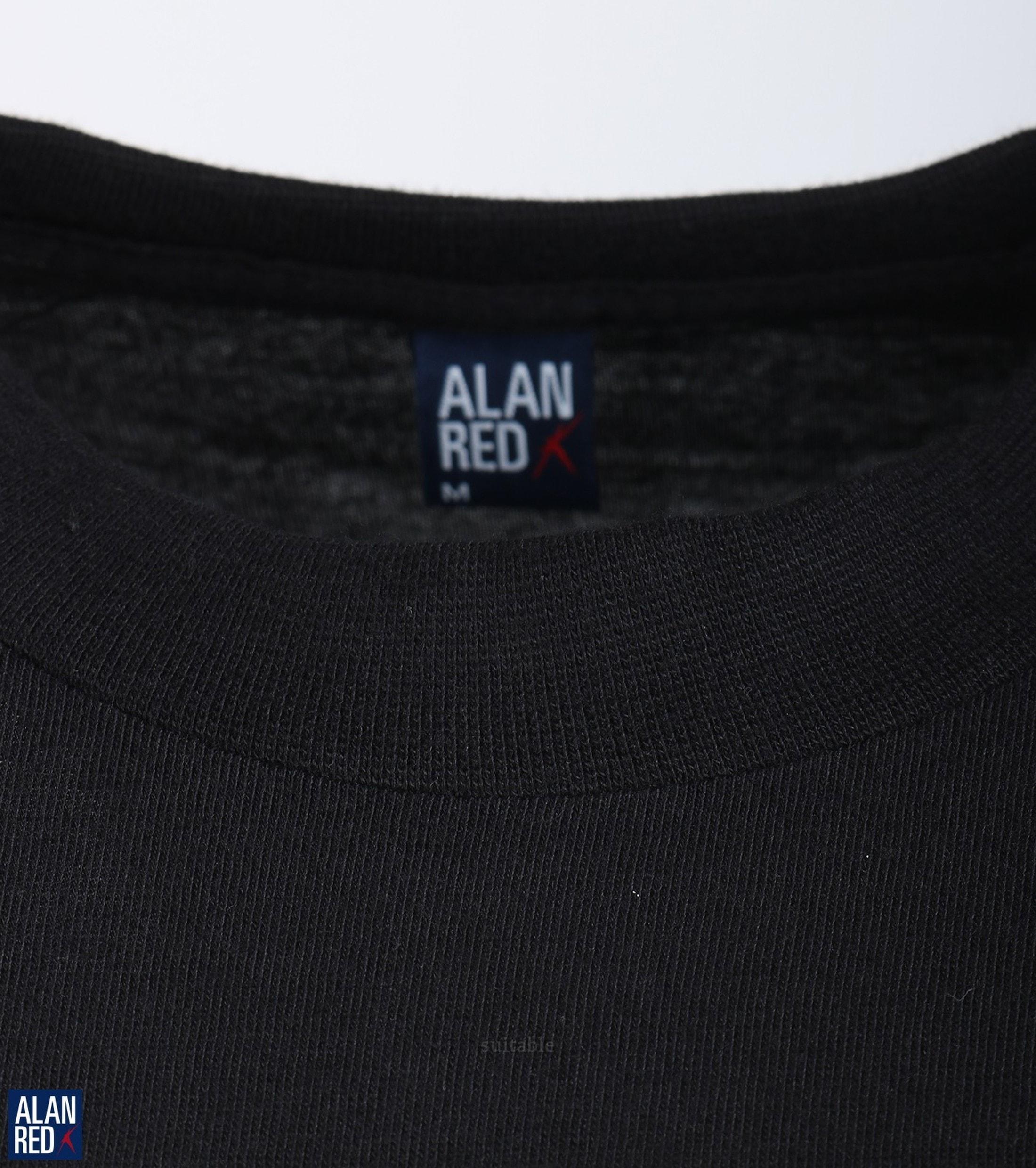 Alan Red T-shirt Virginia Zwart (1pack) foto 1