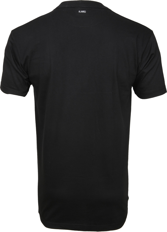 Alan Red T-Shirt Virginia Zwart (2 pack) foto 1