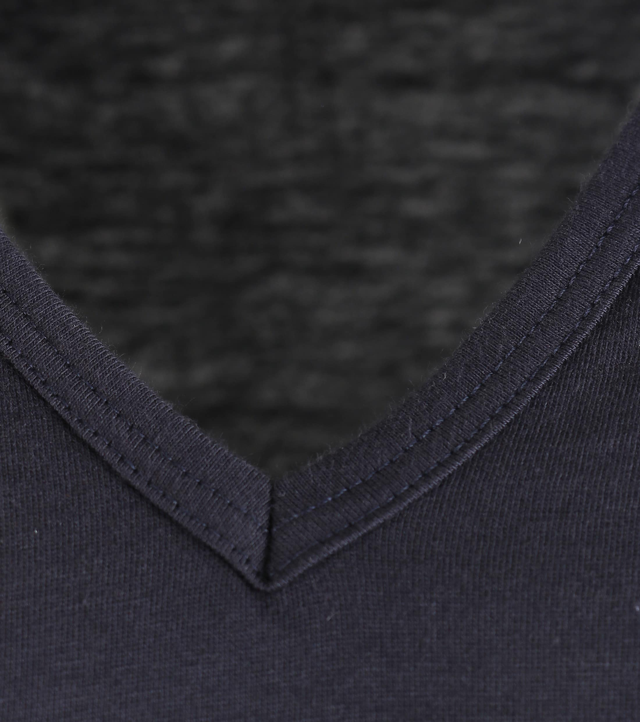Alan Red Vermont Extra Long T-shirts Navy 2-Pack foto 1