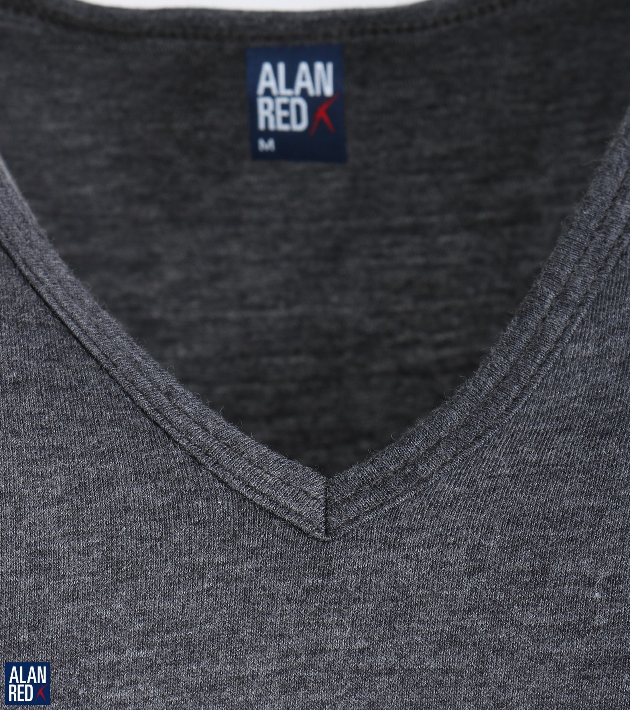 Alan Red Vermont T-Shirt V-Hals Antraciet (1Pack) foto 2
