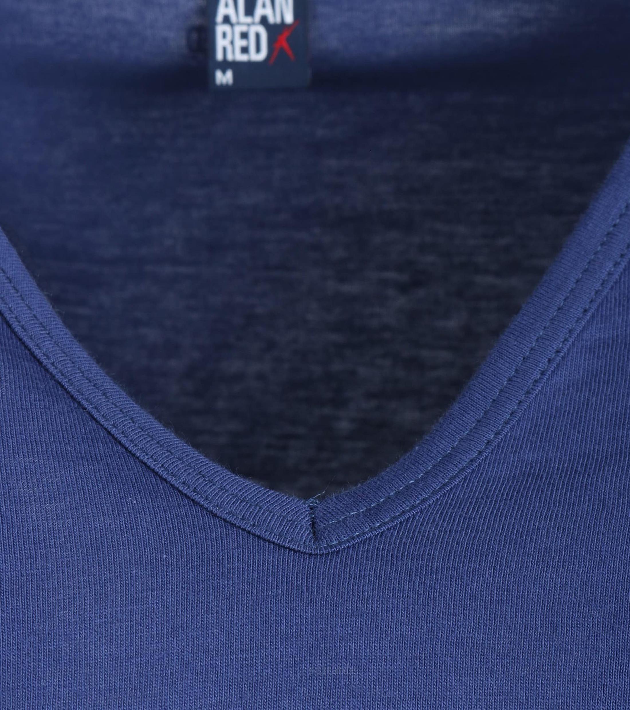Alan Red Vermont T-Shirt V-Hals Ultramarine (1Pack) foto 1