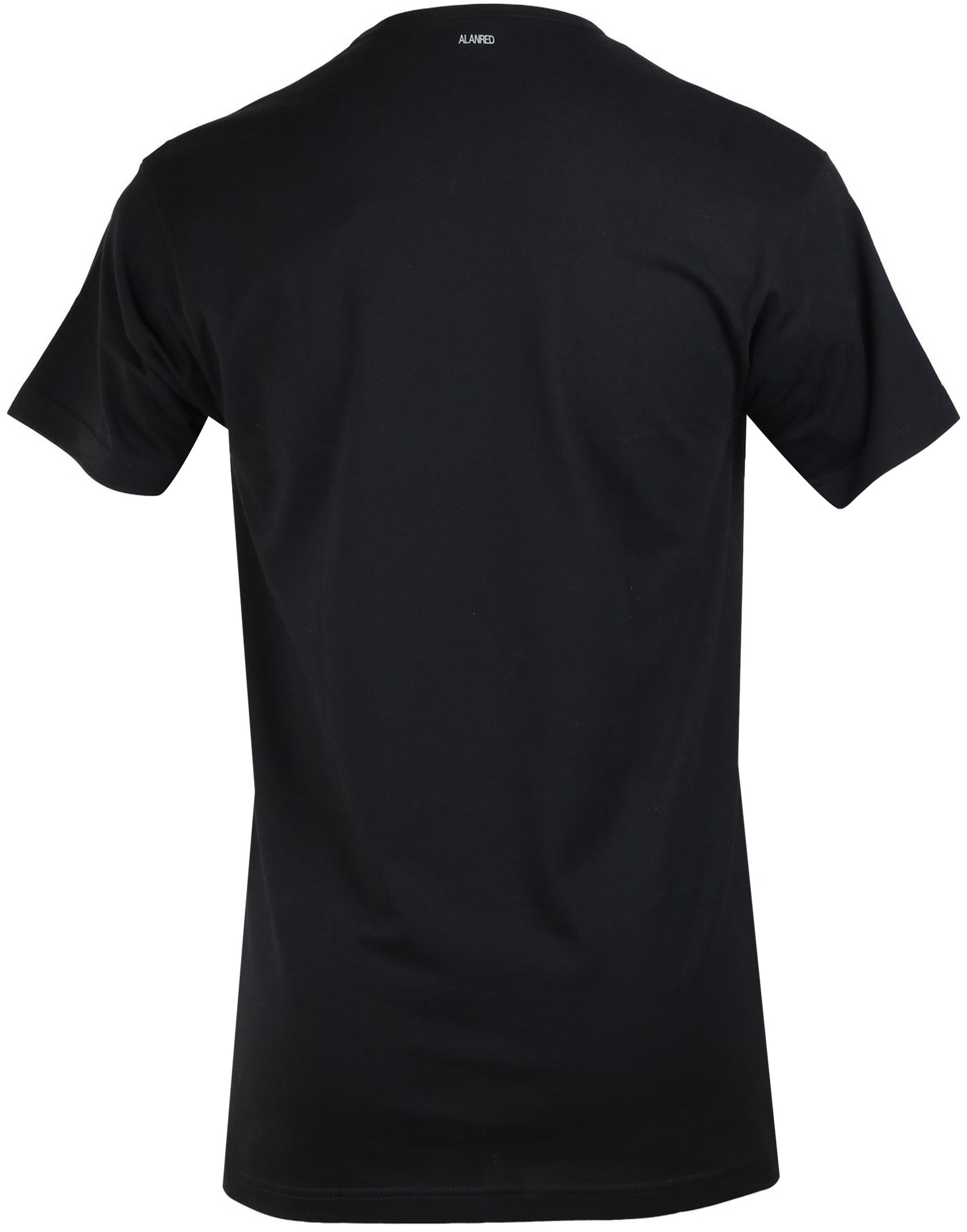 Alan Red Vermont T-Shirt V-Hals Zwart (1Pack) foto 2