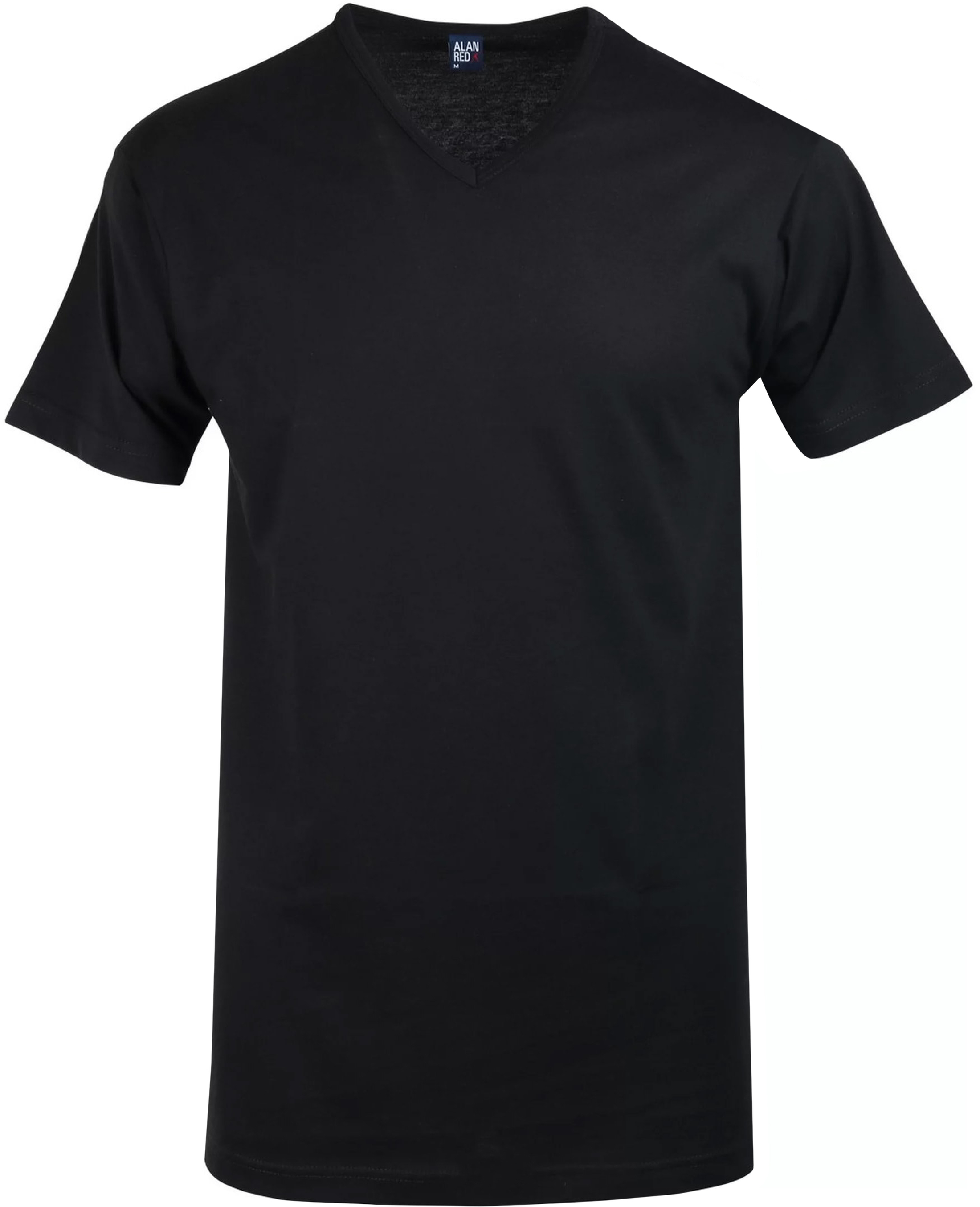 Alan Red Vermont T-Shirt V-Hals Zwart (1Pack) foto 0