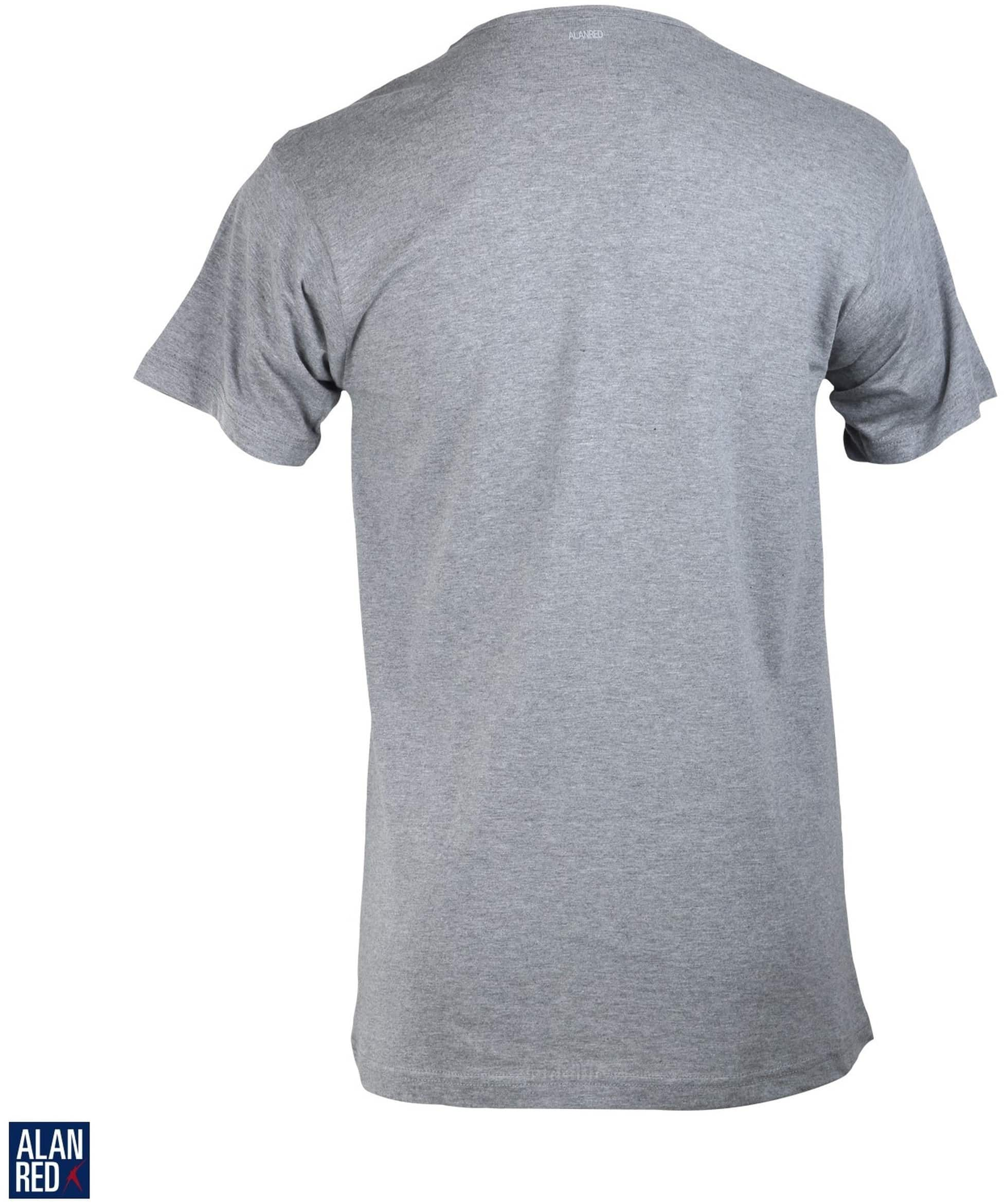 Alan Red Vermont T-shirt V-Neck Mouse 1-Pack foto 2