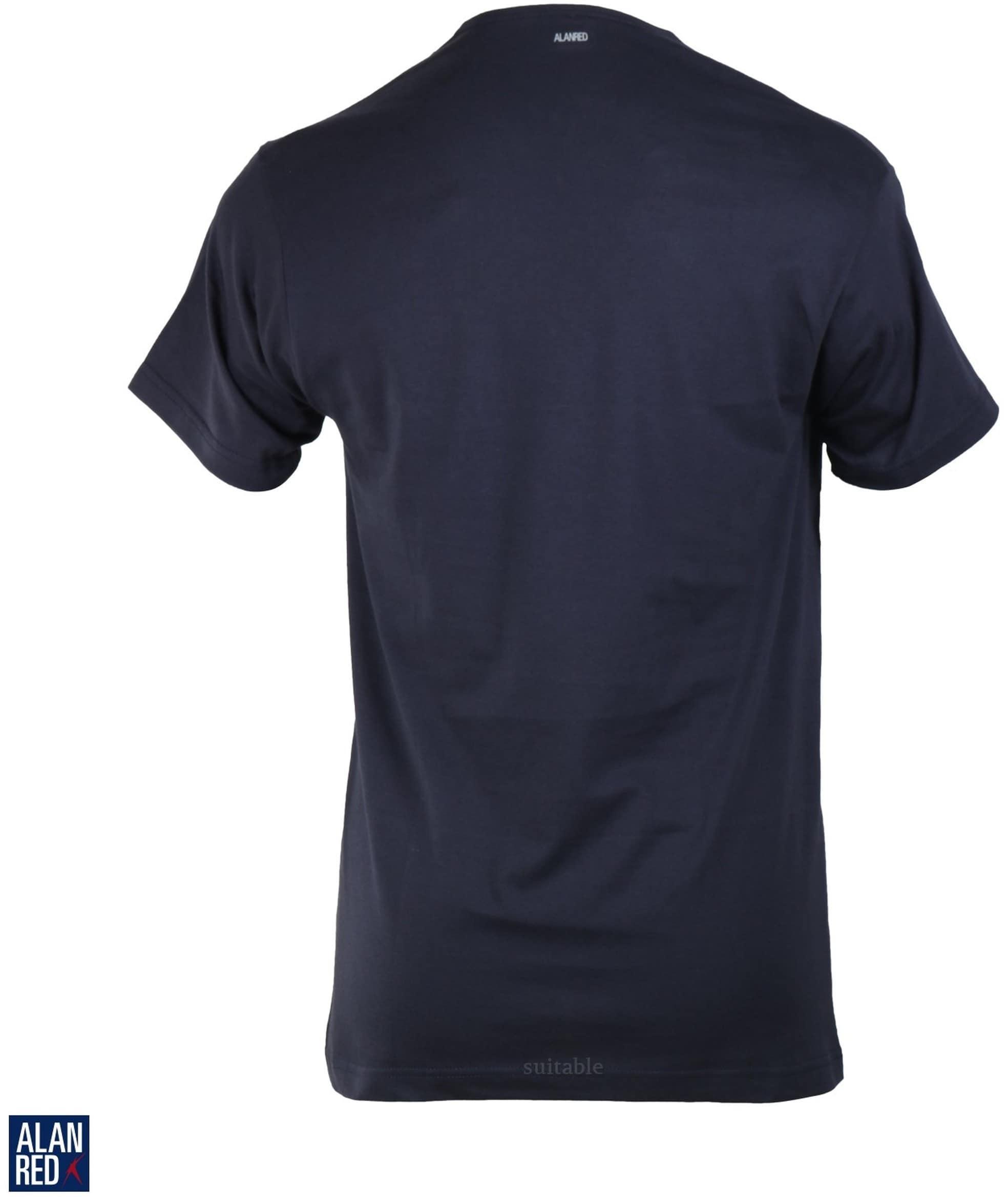 Alan Red Vermont T-shirt V-Neck Navy 1-Pack foto 1