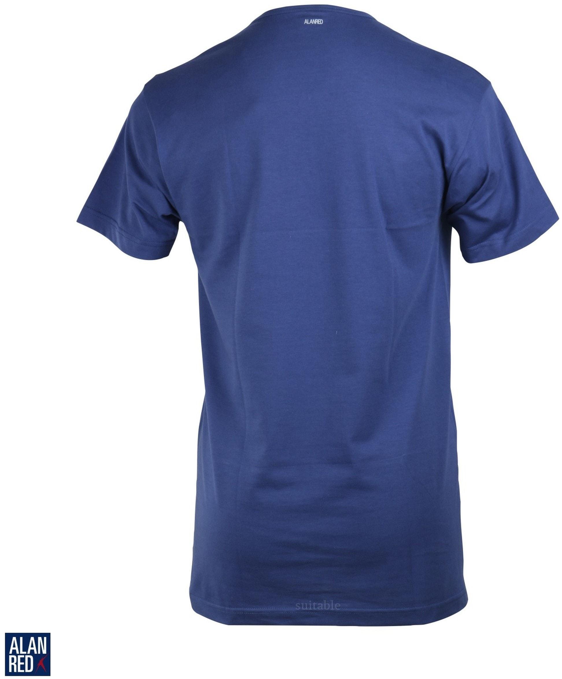 Alan Red Vermont T-shirt V-Neck Ultramarine 1-Pack foto 2