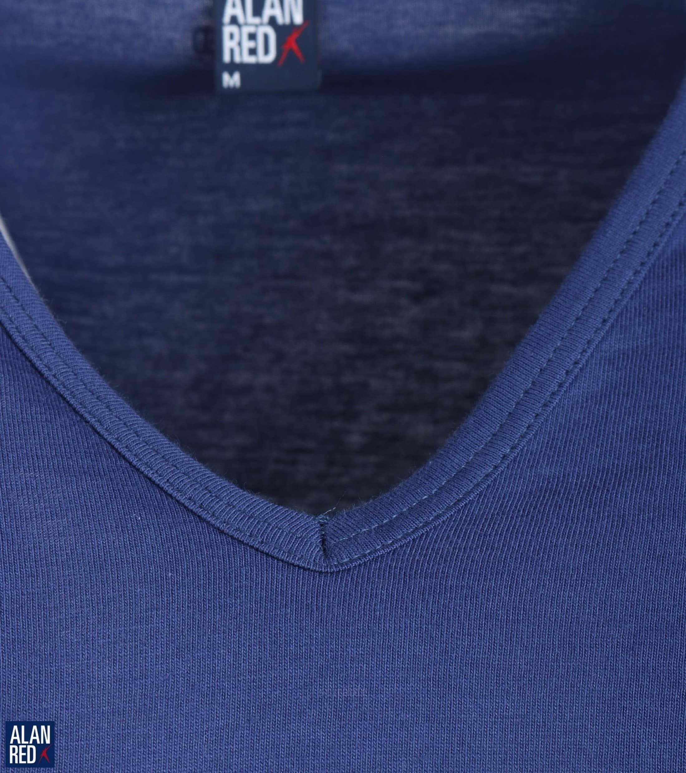 Alan Red Vermont T-shirt V-Neck Ultramarine 1-Pack foto 1