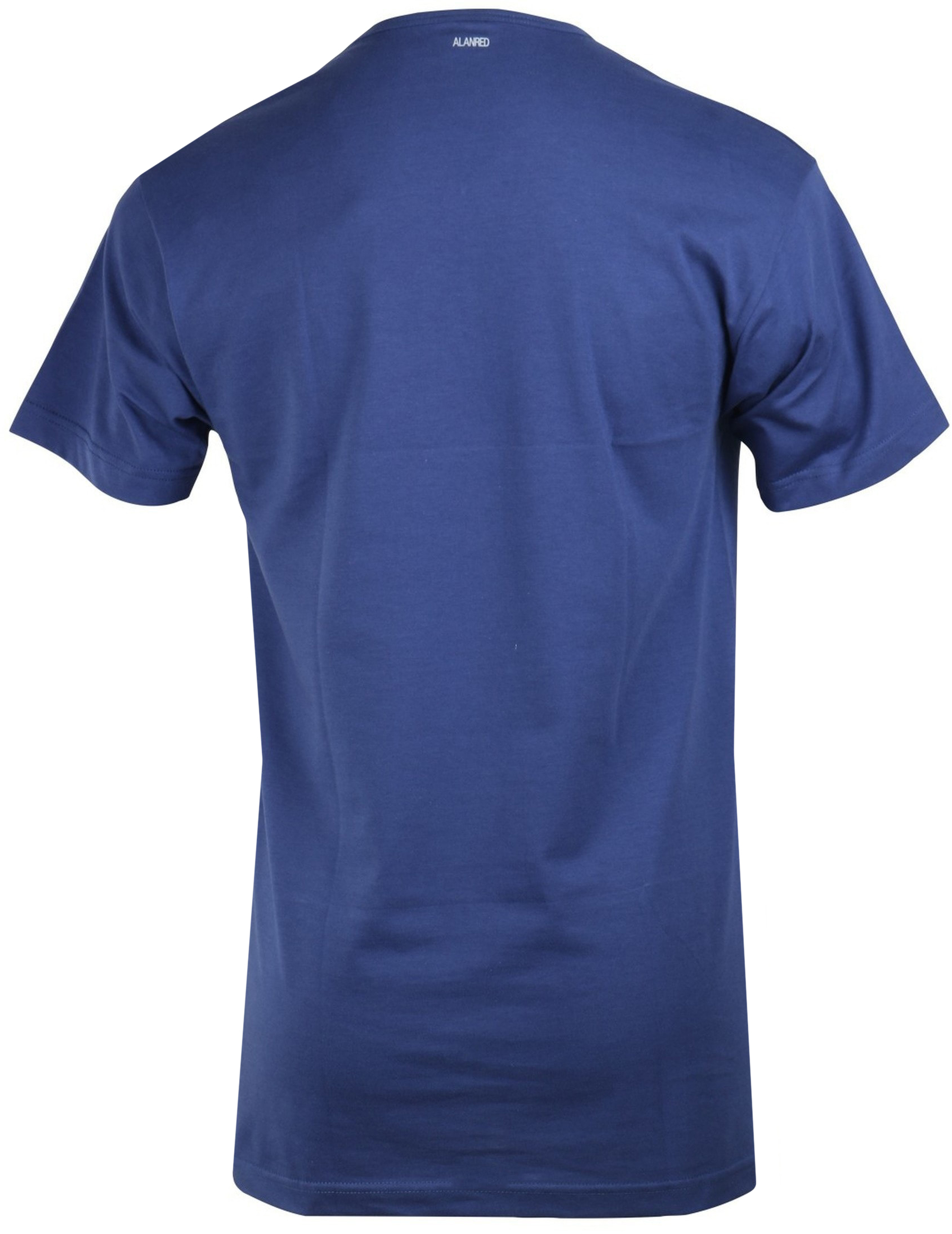 Alan Red Vermont T-shirt V-Neck Ultramarine 1-Pack foto 2